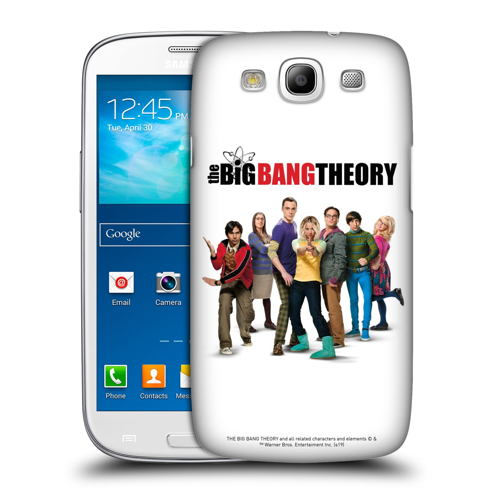 Pouzdro na mobil Samsung Galaxy S3 - HEAD CASE - Big Bang Theory - 10. sezóna