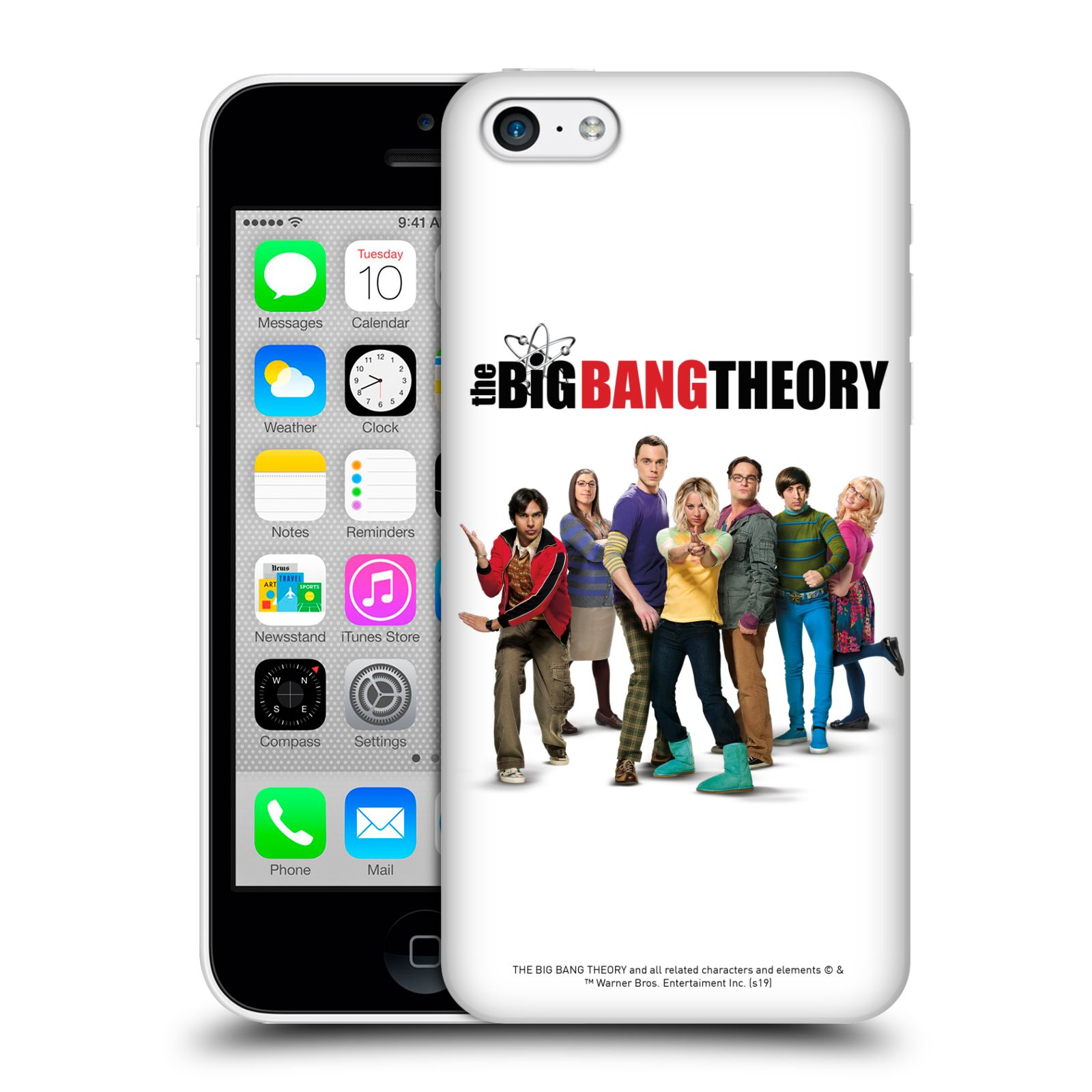 Pouzdro na mobil Apple Iphone 5C - HEAD CASE - Big Bang Theory - 10. sezóna
