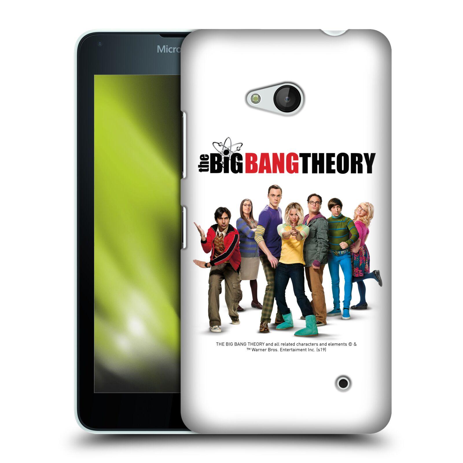 Pouzdro na mobil Microsoft Lumia 640 / 640 DUAL SIM - HEAD CASE - Big Bang Theory - 10. sezóna