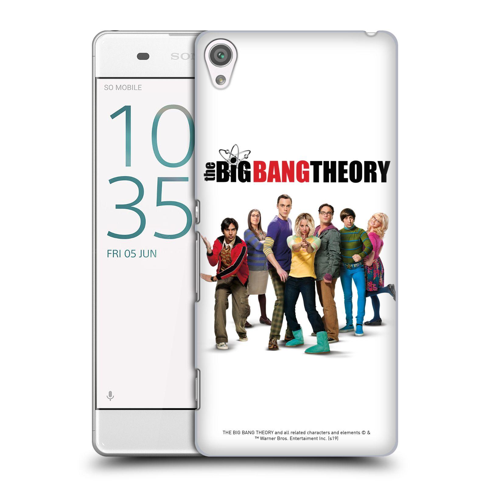 Pouzdro na mobil Sony Xperia XA - HEAD CASE - Big Bang Theory - 10. sezóna