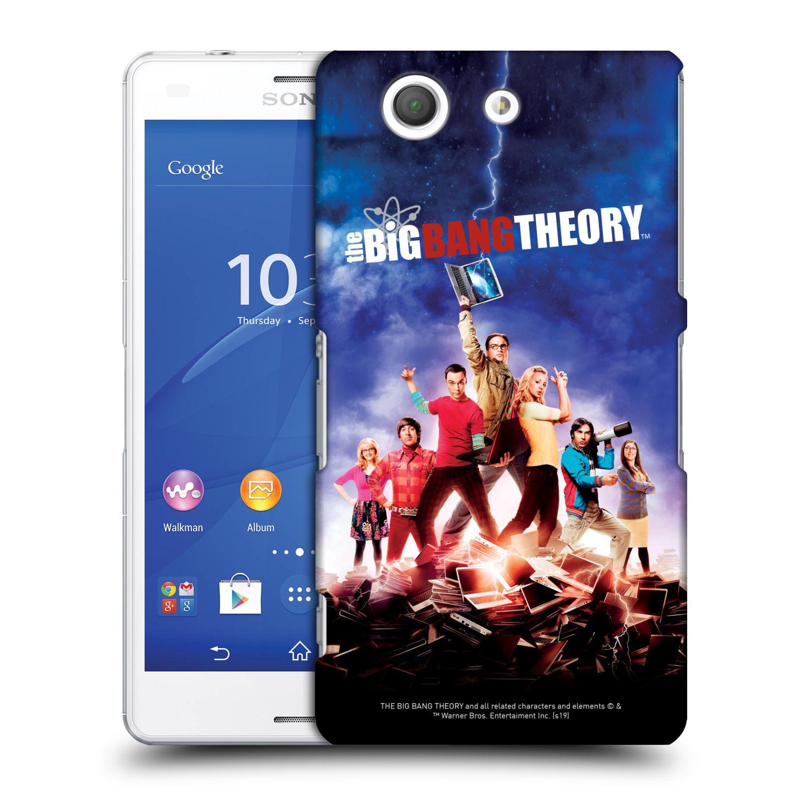 Pouzdro na mobil Sony Xperia Z3 COMPACT - HEAD CASE - Big Bang Theory - 5. sezóna
