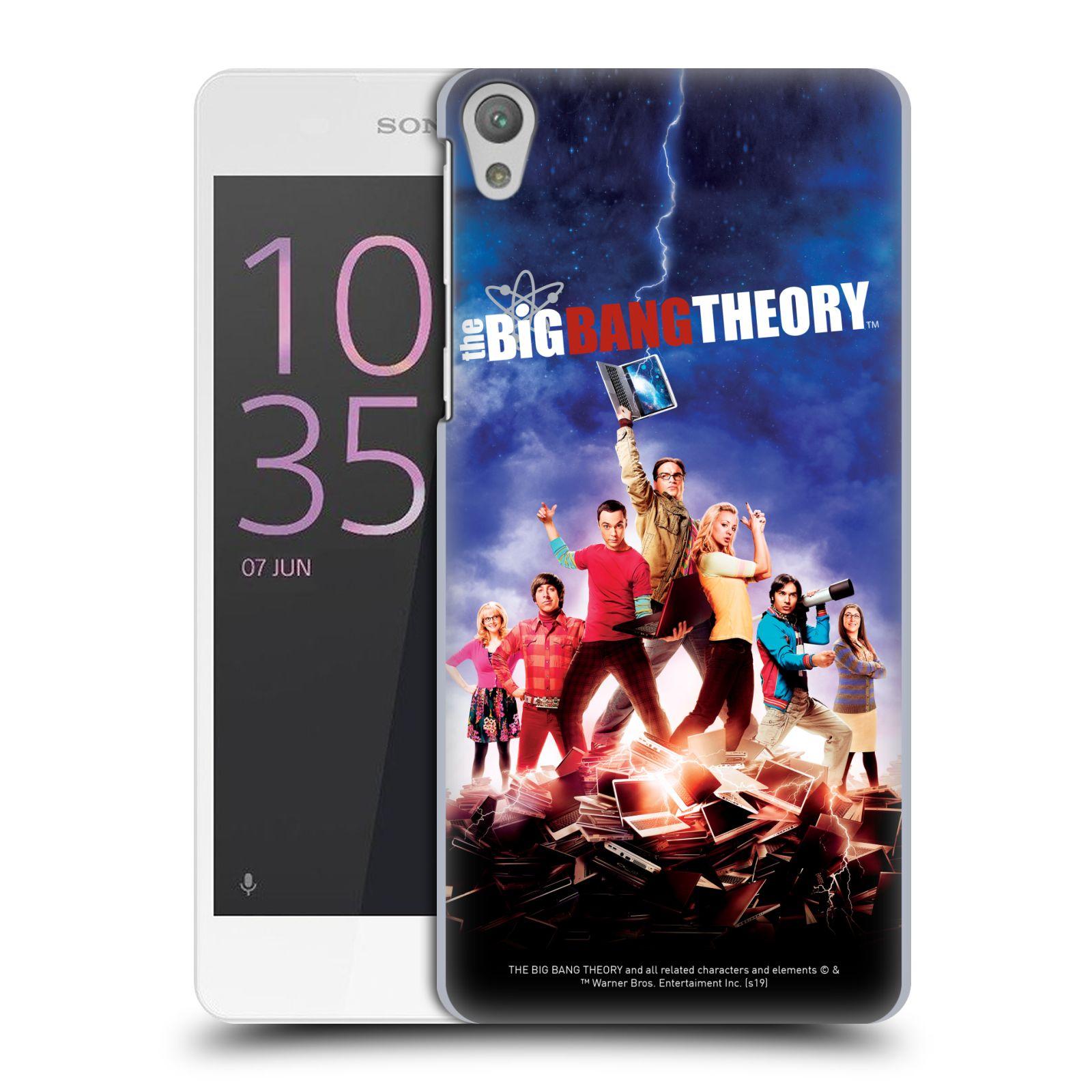 Pouzdro na mobil Sony Xperia E5 - HEAD CASE - Big Bang Theory - 5. sezóna