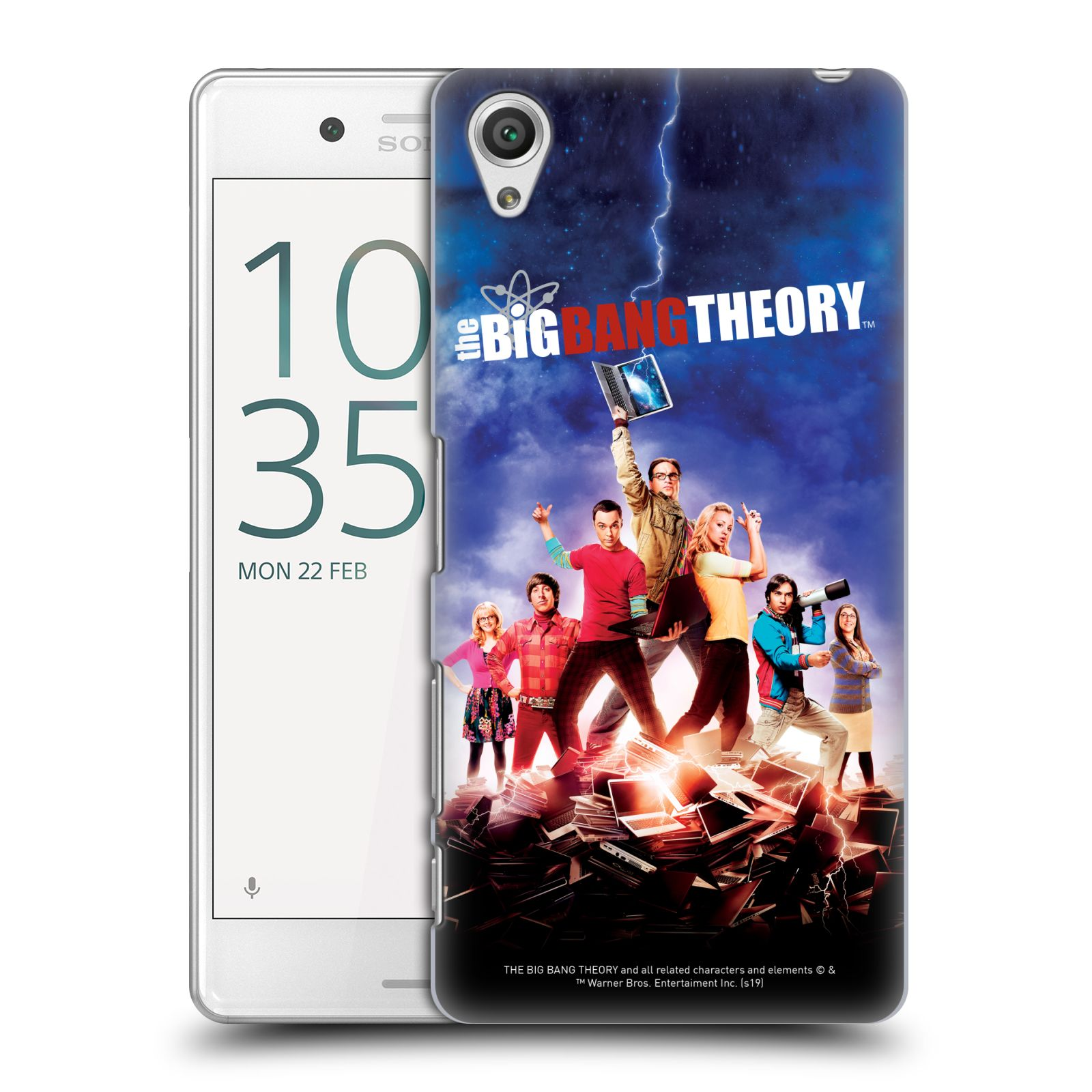 Pouzdro na mobil Sony Xperia X PERFORMANCE - HEAD CASE - Big Bang Theory - 5. sezóna