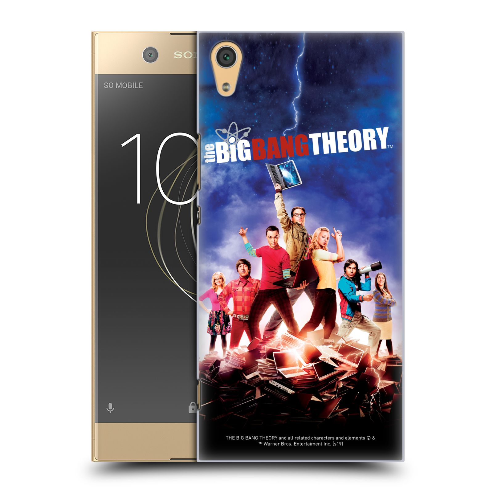 Pouzdro na mobil Sony Xperia XA1 ULTRA - HEAD CASE - Big Bang Theory - 5. sezóna