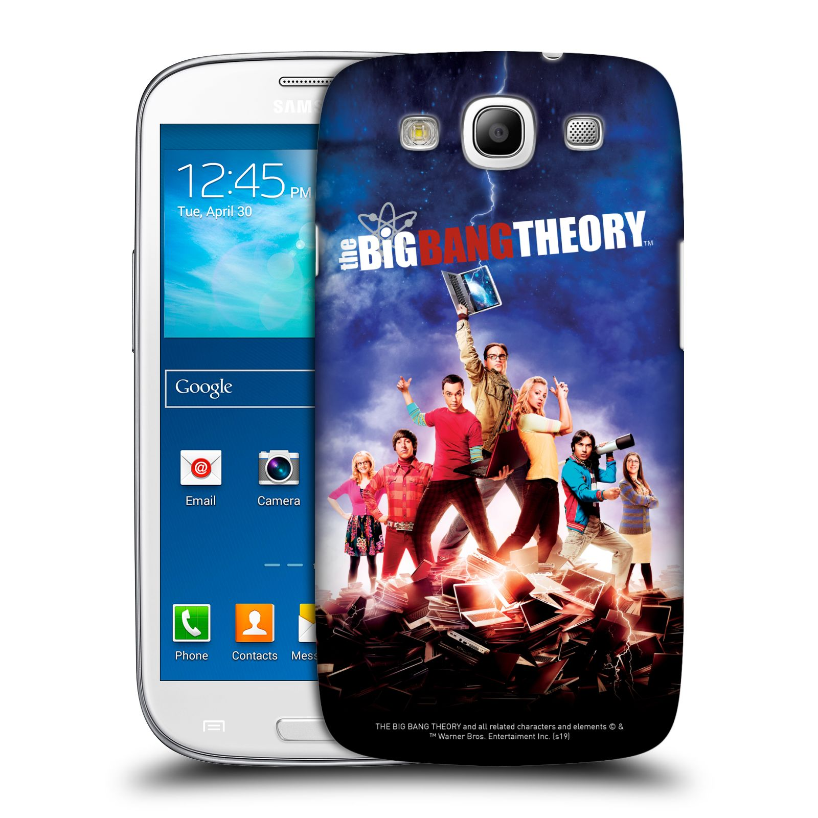 Pouzdro na mobil Samsung Galaxy S3 - HEAD CASE - Big Bang Theory - 5. sezóna