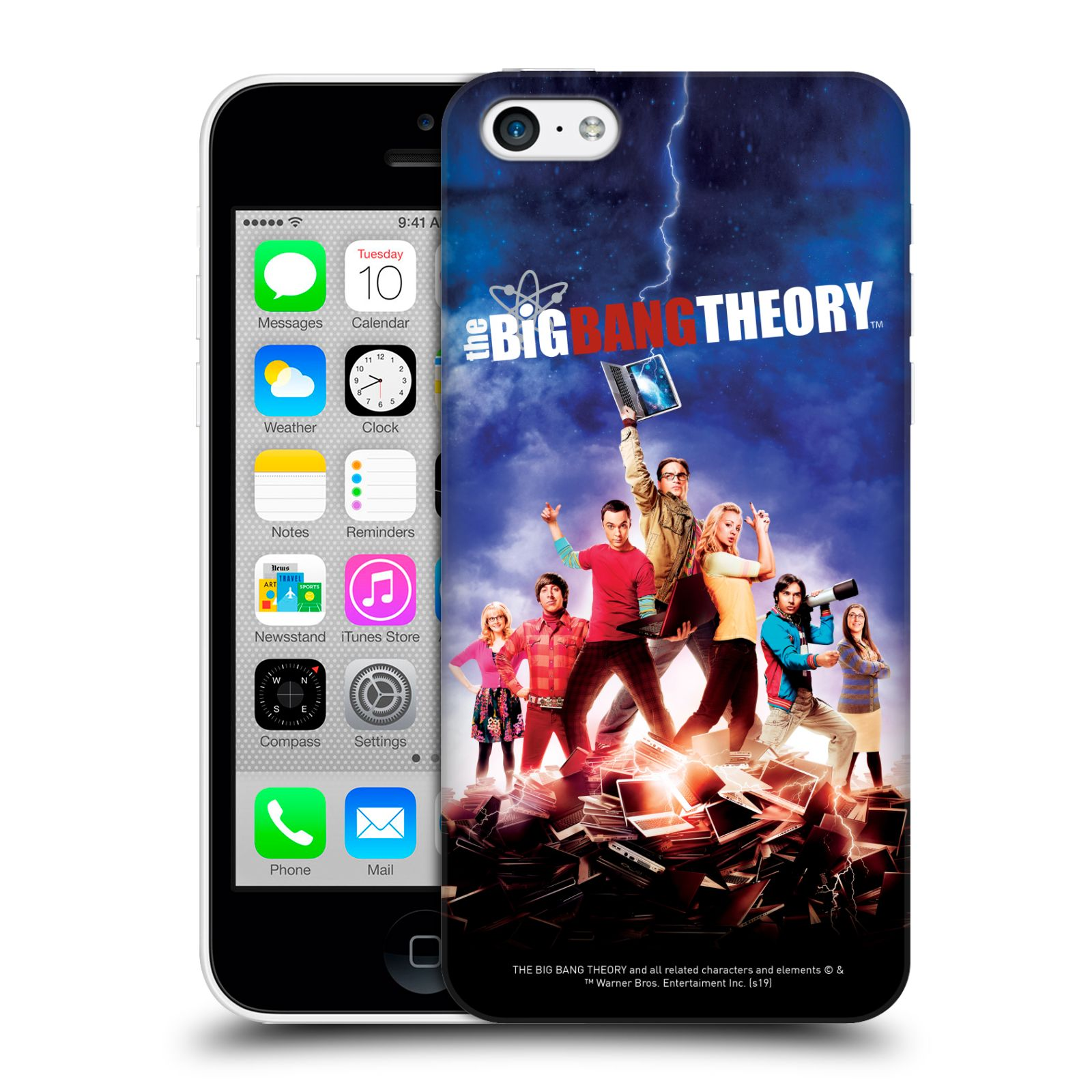 Pouzdro na mobil Apple Iphone 5C - HEAD CASE - Big Bang Theory - 5. sezóna