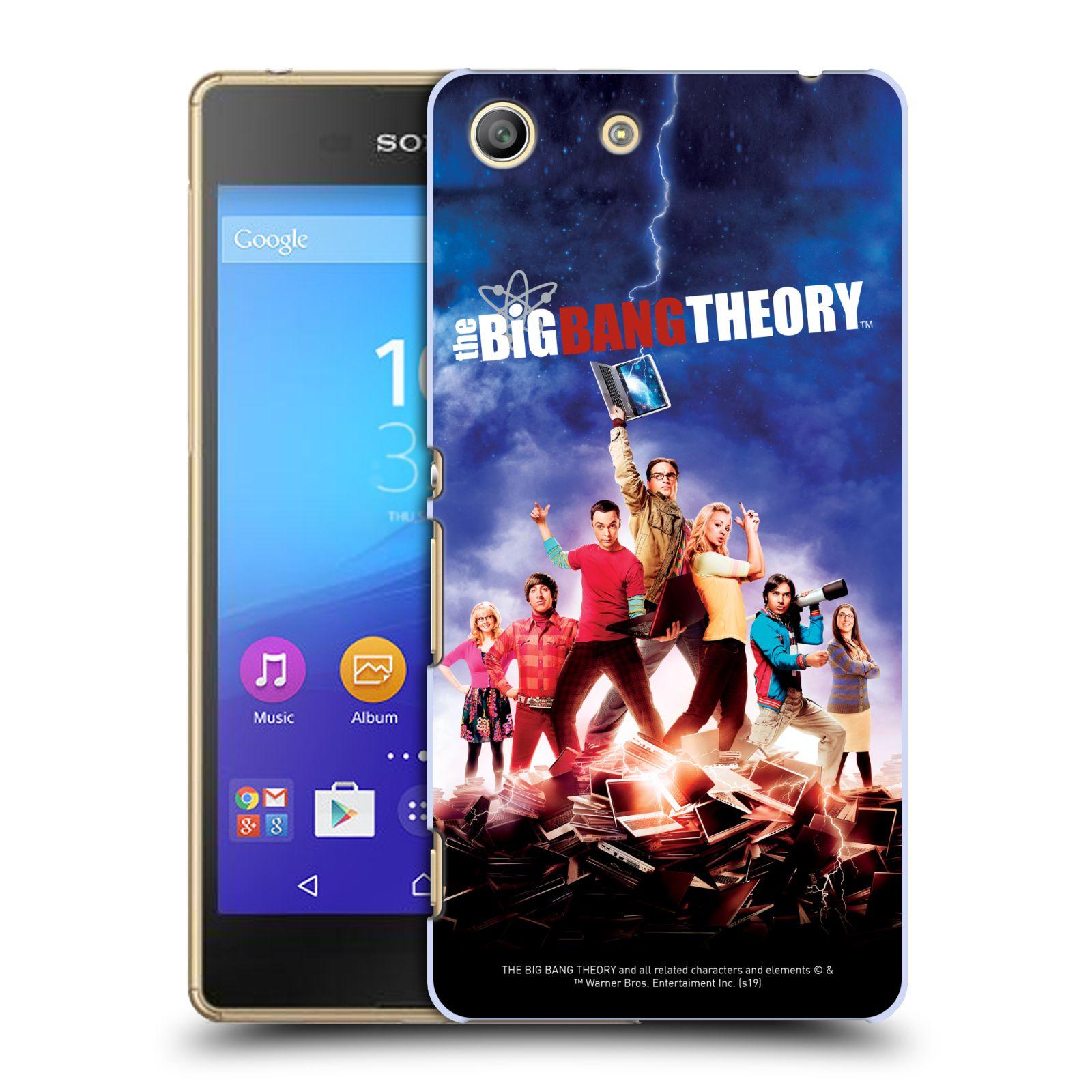 Pouzdro na mobil Sony Xperia M5 - HEAD CASE - Big Bang Theory - 5. sezóna