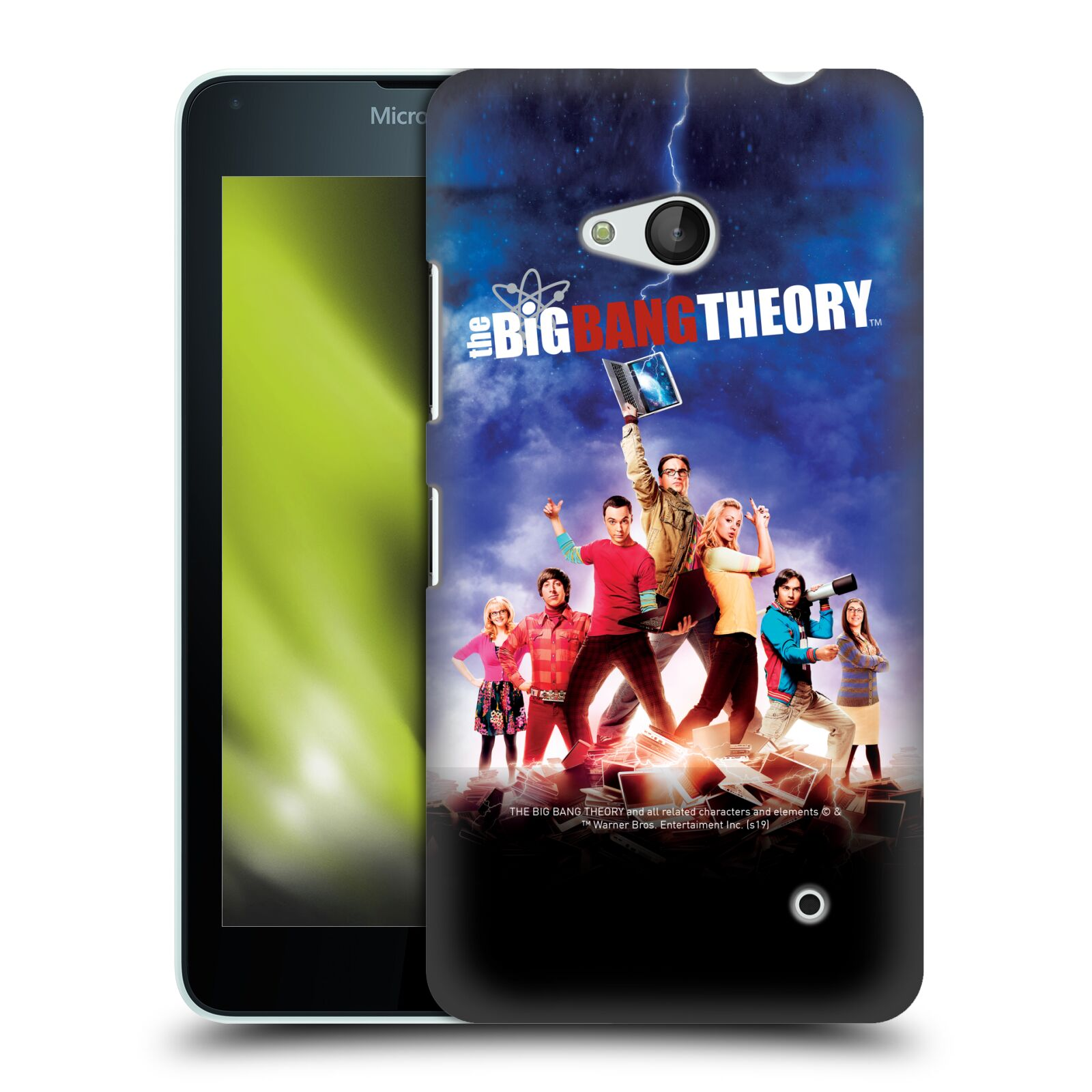 Pouzdro na mobil Microsoft Lumia 640 / 640 DUAL SIM - HEAD CASE - Big Bang Theory - 5. sezóna