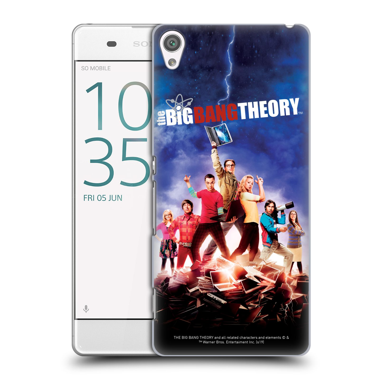 Pouzdro na mobil Sony Xperia XA - HEAD CASE - Big Bang Theory - 5. sezóna