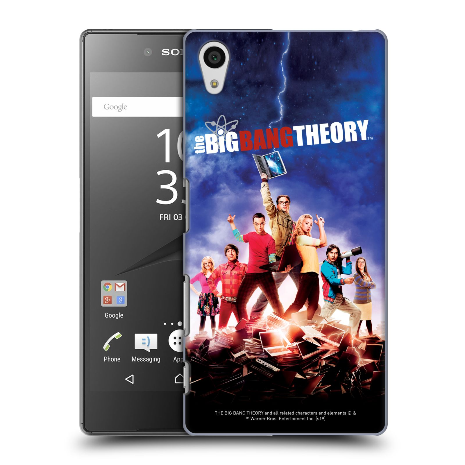 Pouzdro na mobil Sony Xperia Z5 - HEAD CASE - Big Bang Theory - 5. sezóna