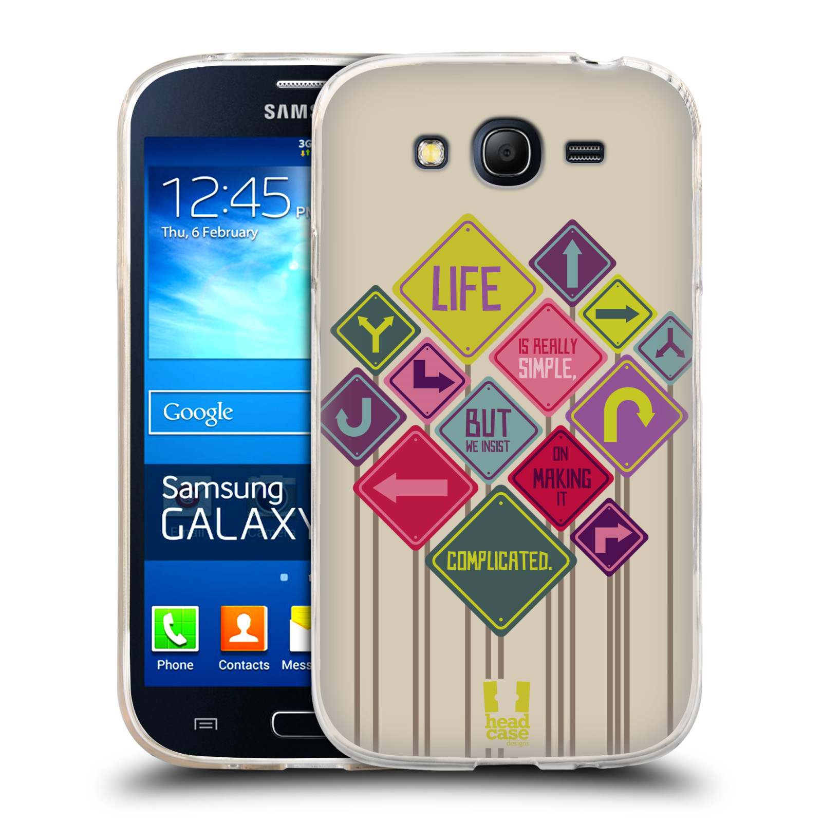 HEAD CASE TEACHINGS OF CONFUCIUS GEL CASE FOR SAMSUNG GALAXY GRAND NEO I9060