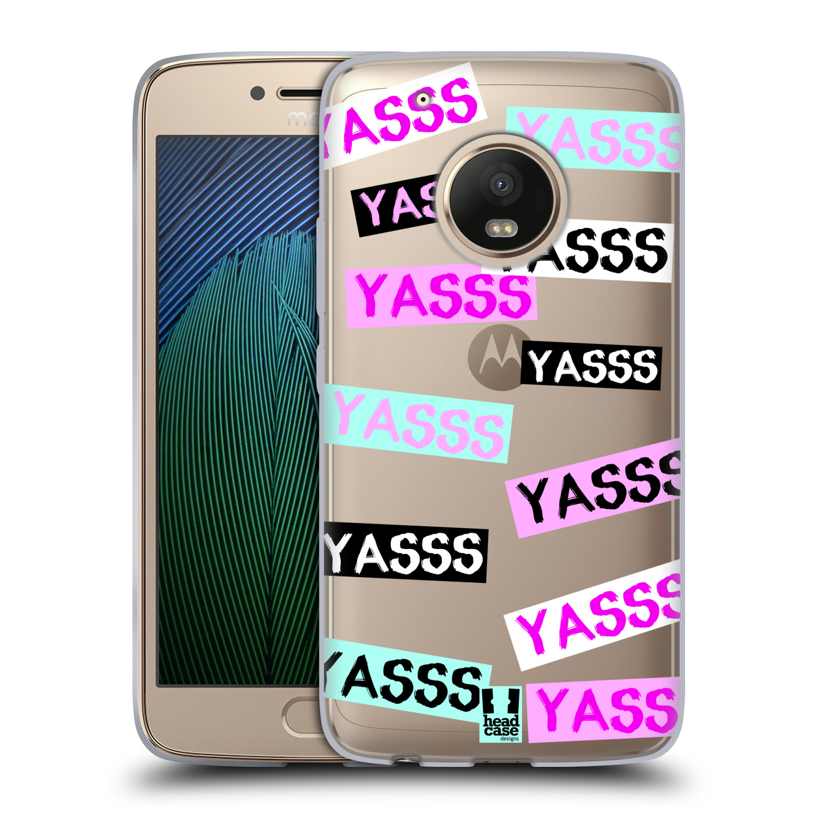 HEAD-CASE-DESIGNS-TEEN-SLANGS-SOFT-GEL-CASE-FOR-MOTOROLA-MOTO-G5-PLUS