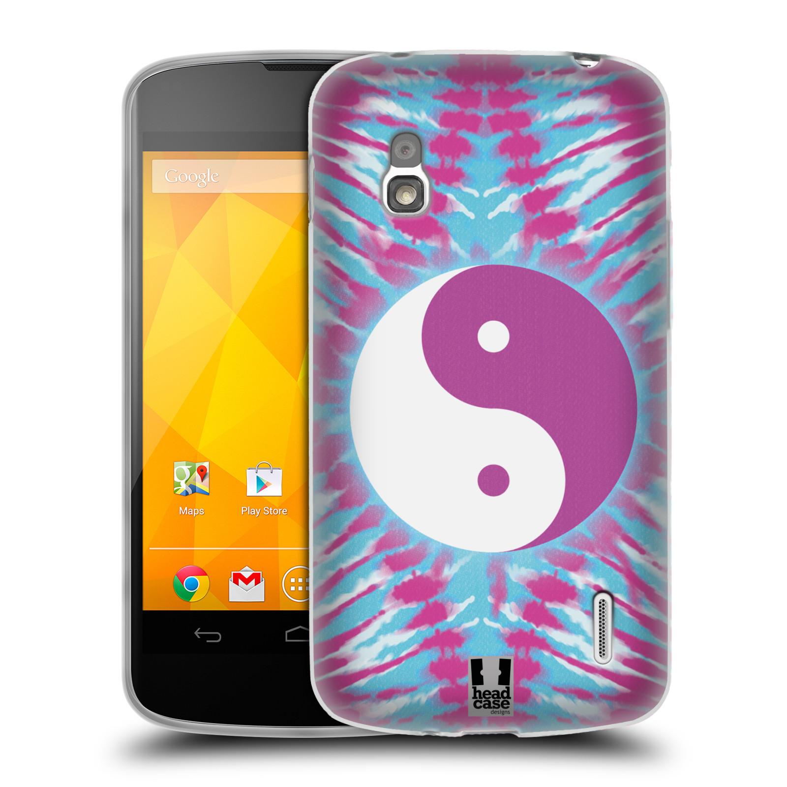 HEAD CASE DESIGNS TIE DYE MIX SOFT GEL CASE FOR LG PHONES 3