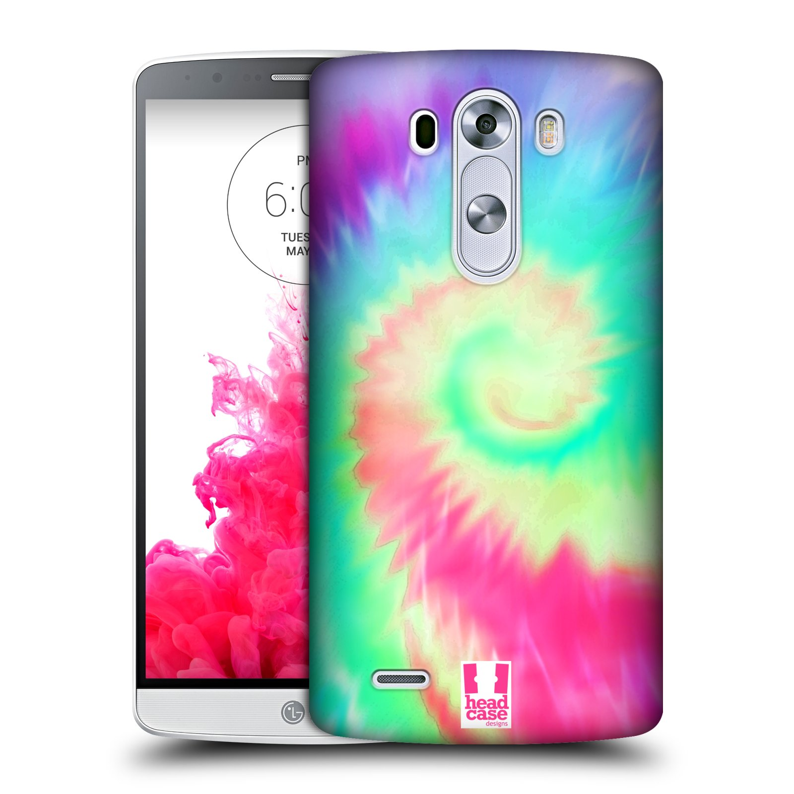 HEAD CASE DESIGNS TIE DYED S2 HARD BACK CASE FOR LG PHONES 1