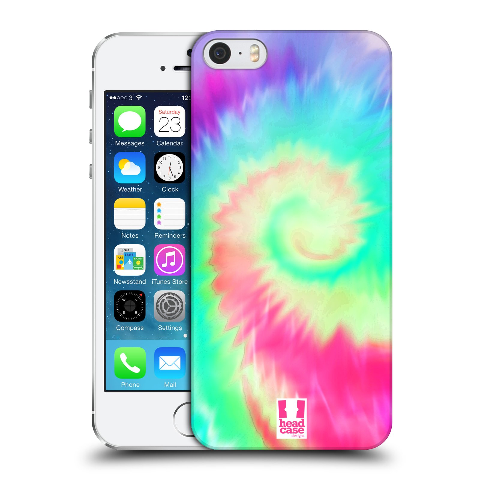 HEAD CASE DESIGNS TIE DYED SERIES 2 CASE COVER FOR APPLE iPHONE 5 5S