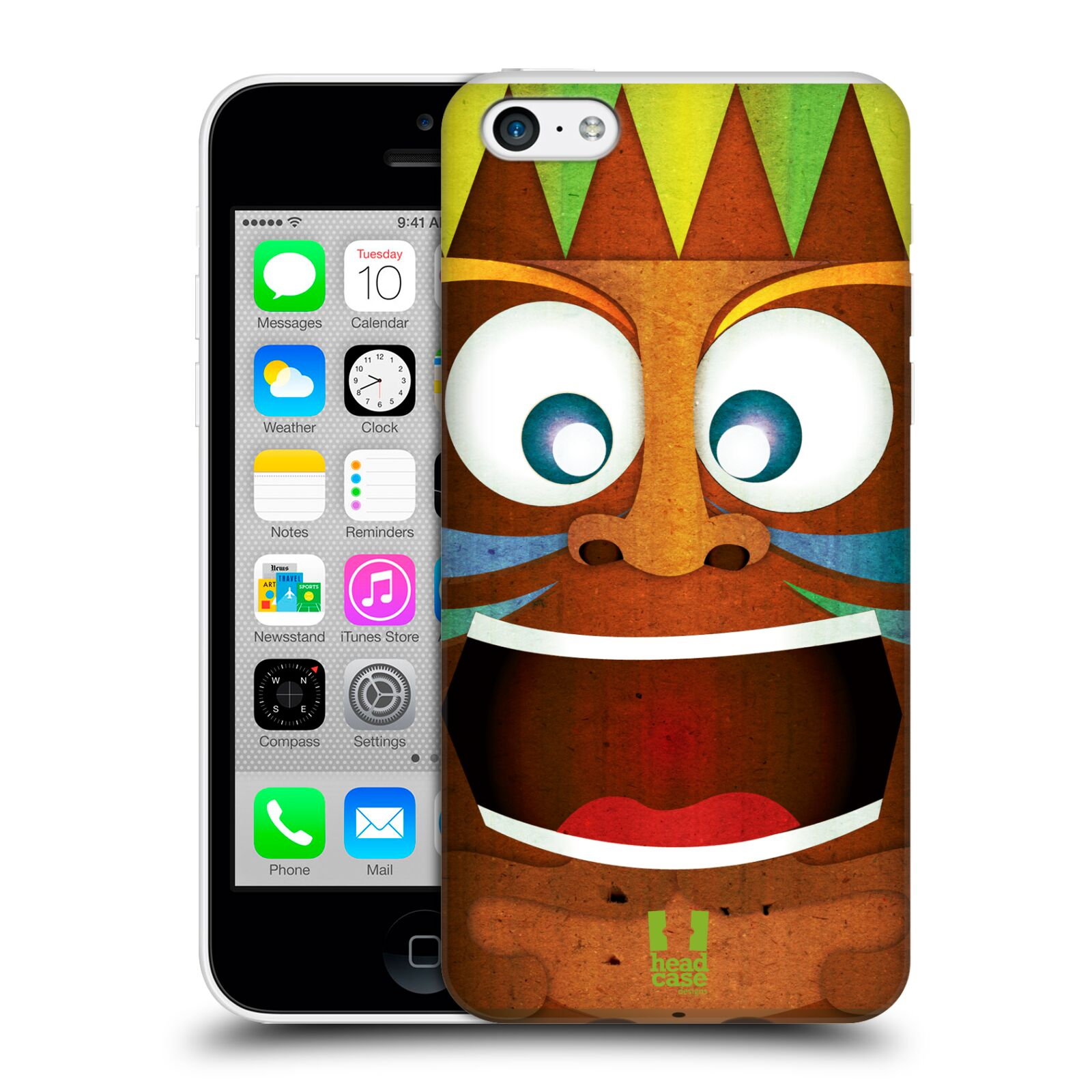 HEAD-CASE-DESIGNS-TIKI-COLLECTION-HARD-BACK-CASE-FOR-APPLE-iPHONE-5C