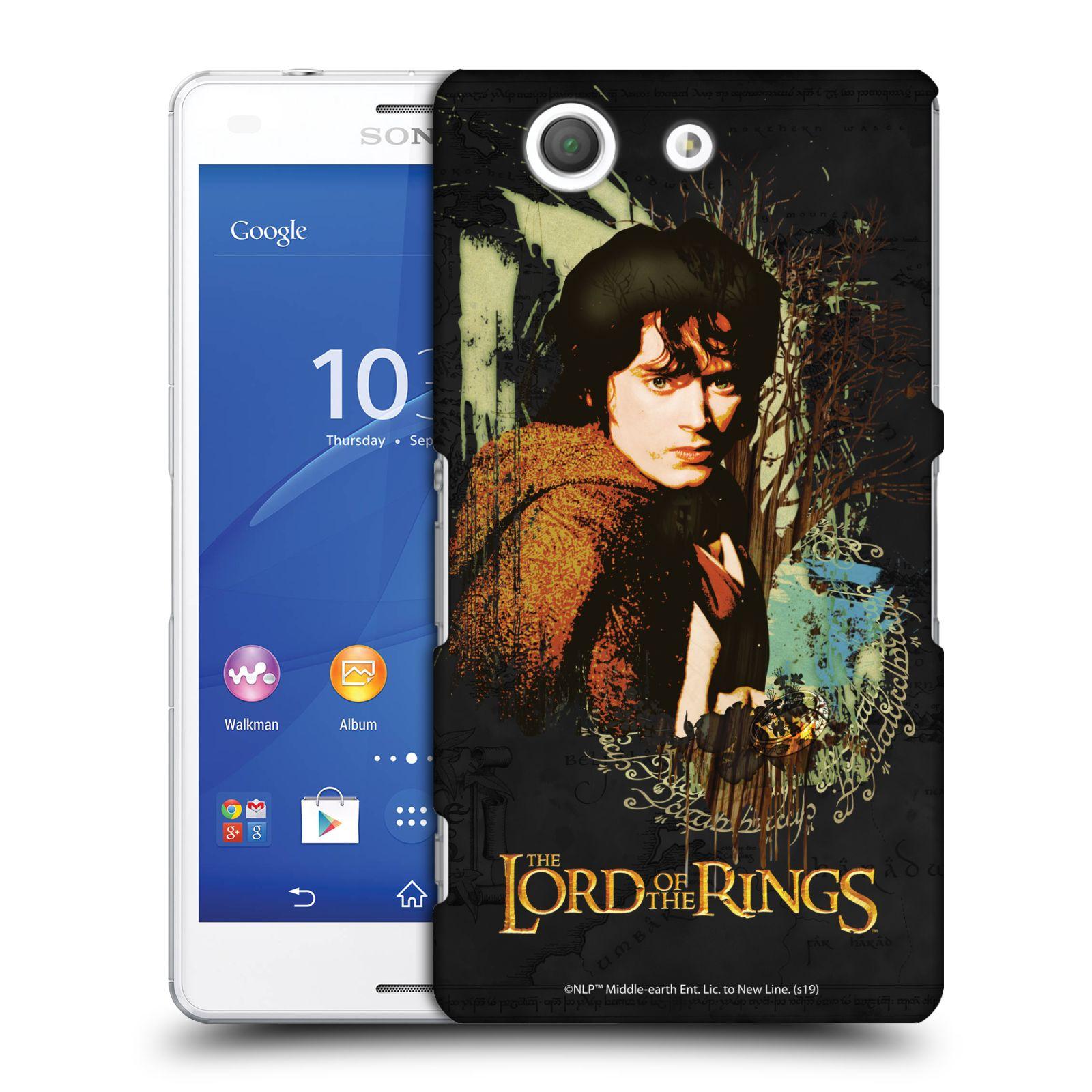 Pouzdro na mobil Sony Xperia Z3 COMPACT - HEAD CASE - Pán Prstenů - Frodo Pytlík