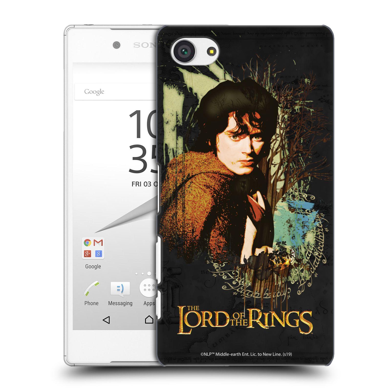 Pouzdro na mobil Sony Xperia Z5 COMPACT - HEAD CASE - Pán Prstenů - Frodo Pytlík