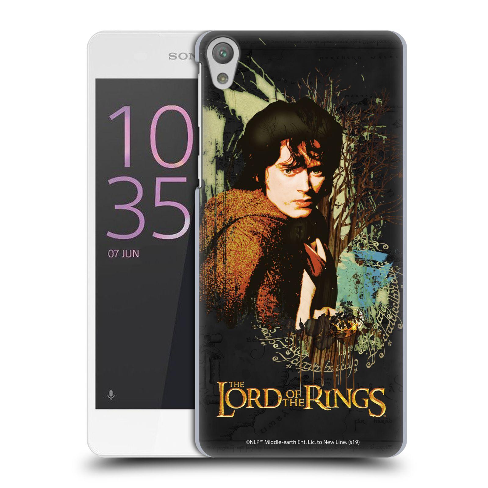 Pouzdro na mobil Sony Xperia E5 - HEAD CASE - Pán Prstenů - Frodo Pytlík
