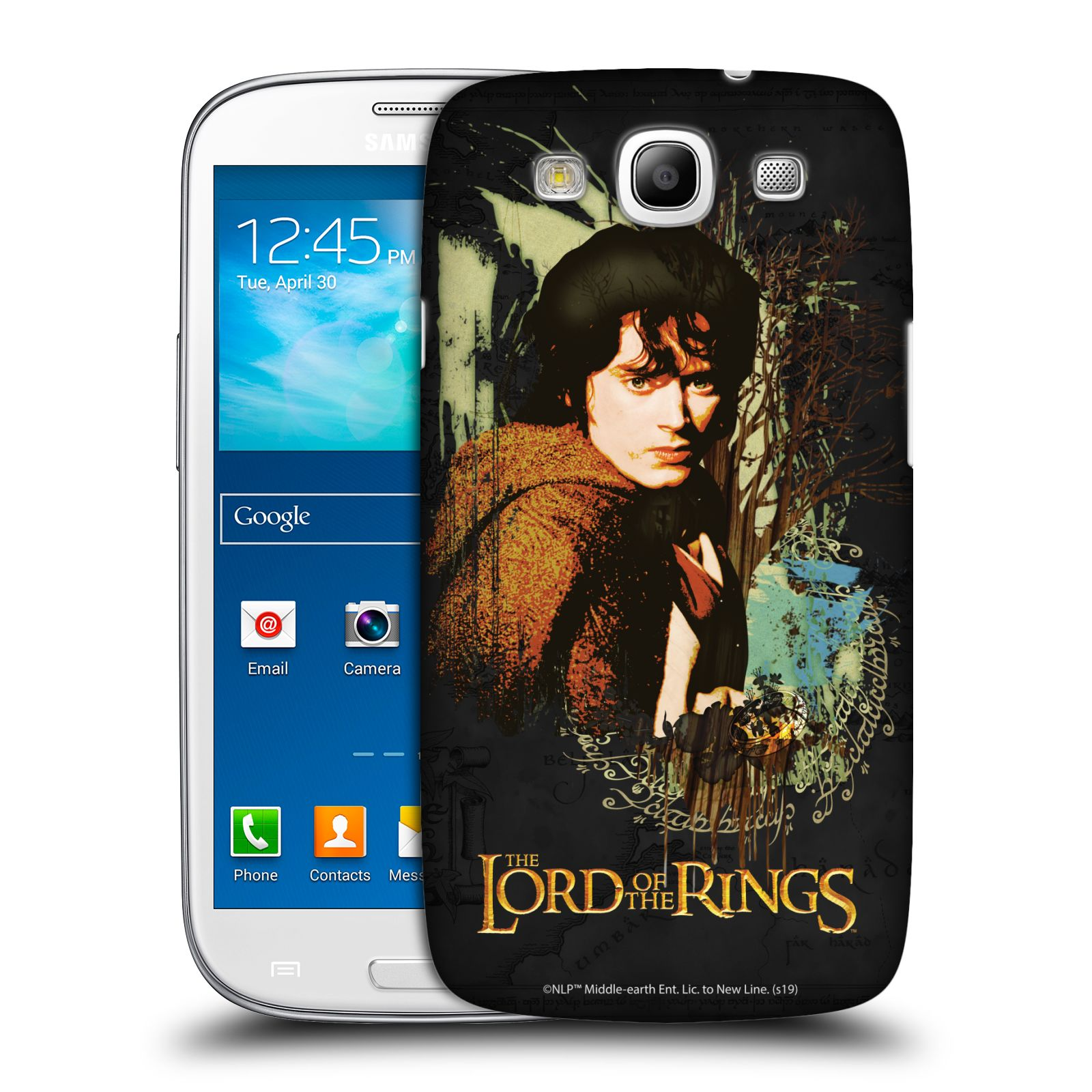 Pouzdro na mobil Samsung Galaxy S3 - HEAD CASE - Pán Prstenů - Frodo Pytlík