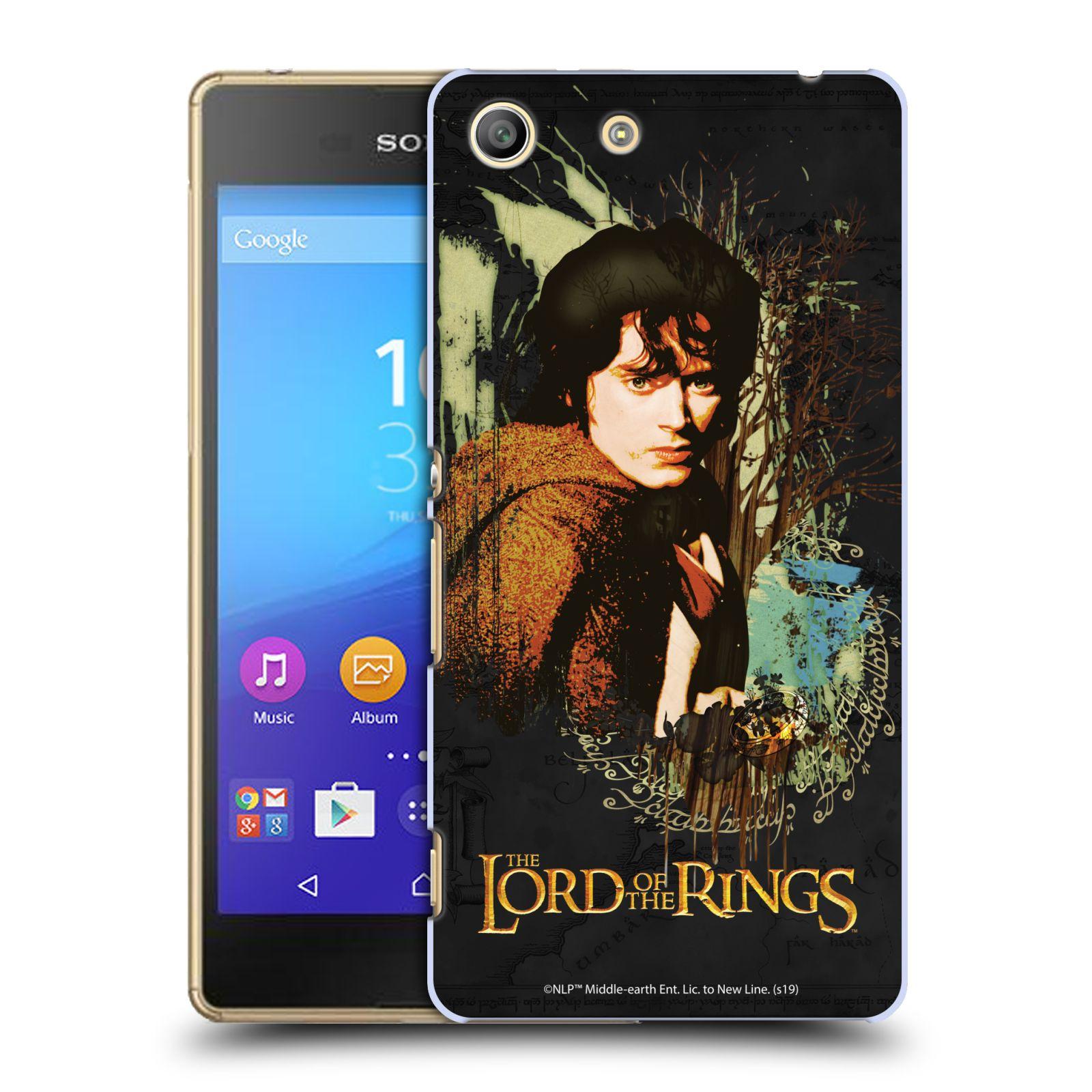 Pouzdro na mobil Sony Xperia M5 - HEAD CASE - Pán Prstenů - Frodo Pytlík