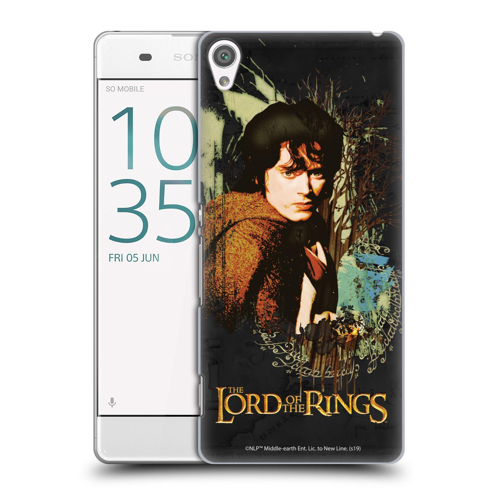 Pouzdro na mobil Sony Xperia XA - HEAD CASE - Pán Prstenů - Frodo Pytlík