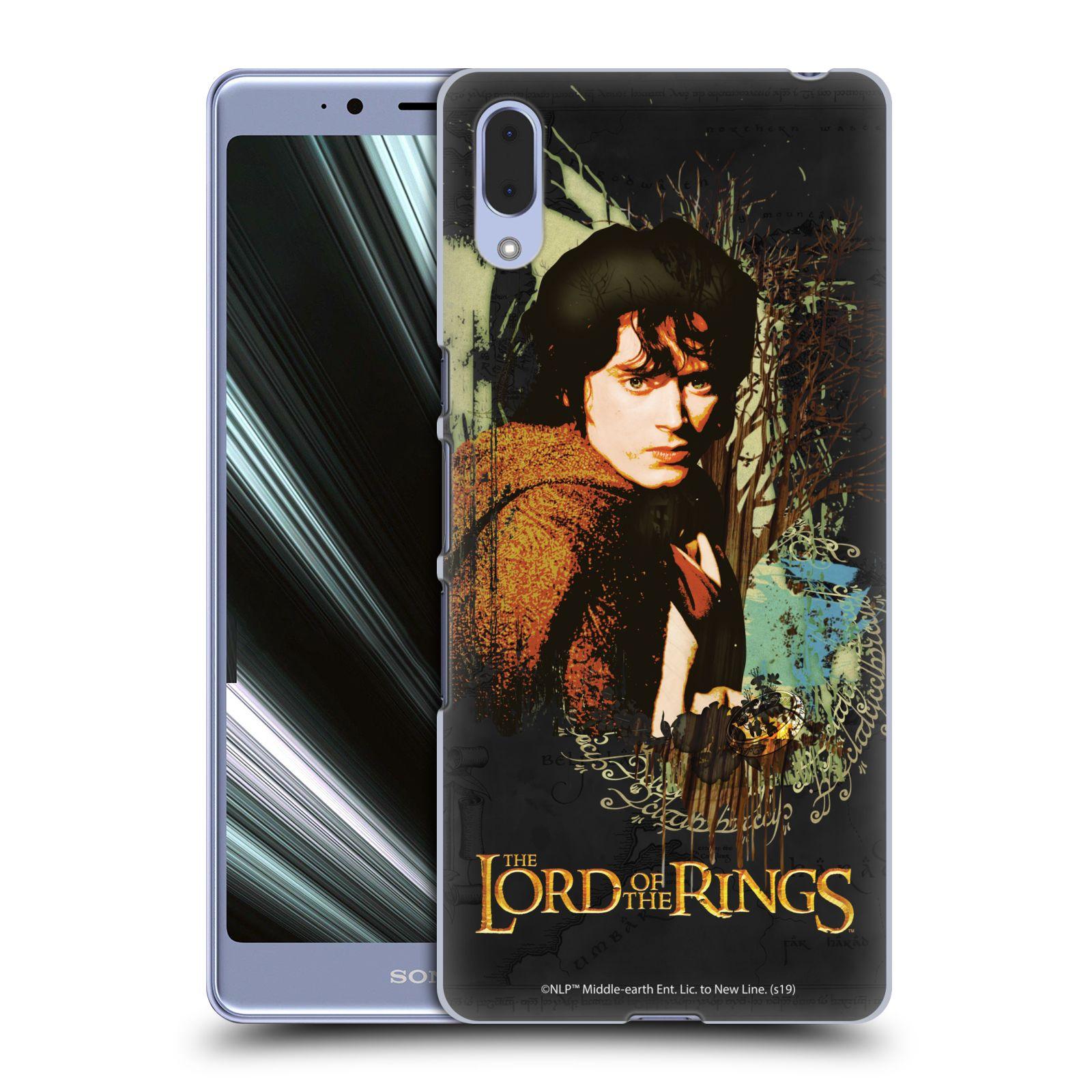 Pouzdro na mobil Sony Xperia L3 - HEAD CASE - Pán Prstenů - Frodo Pytlík