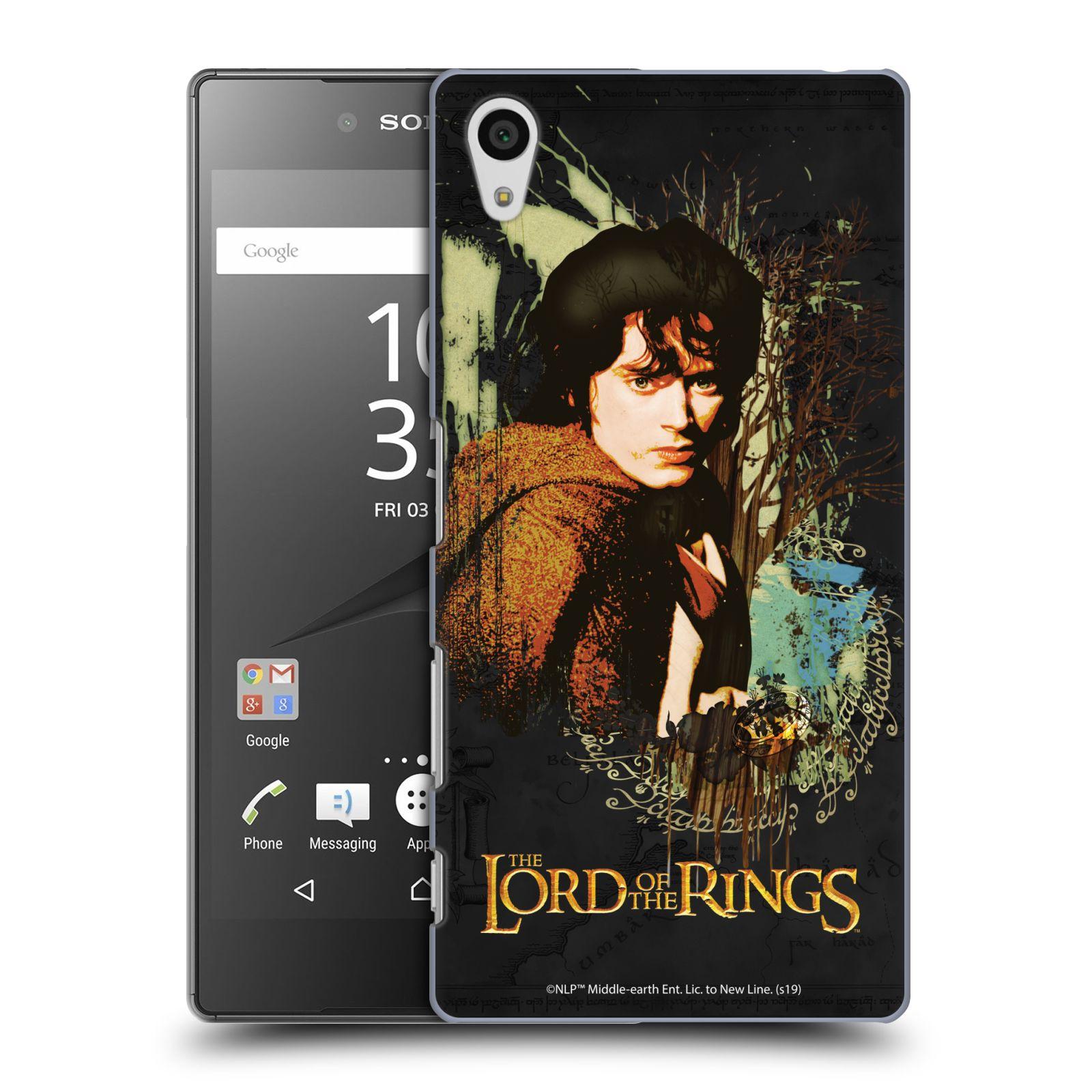Pouzdro na mobil Sony Xperia Z5 - HEAD CASE - Pán Prstenů - Frodo Pytlík