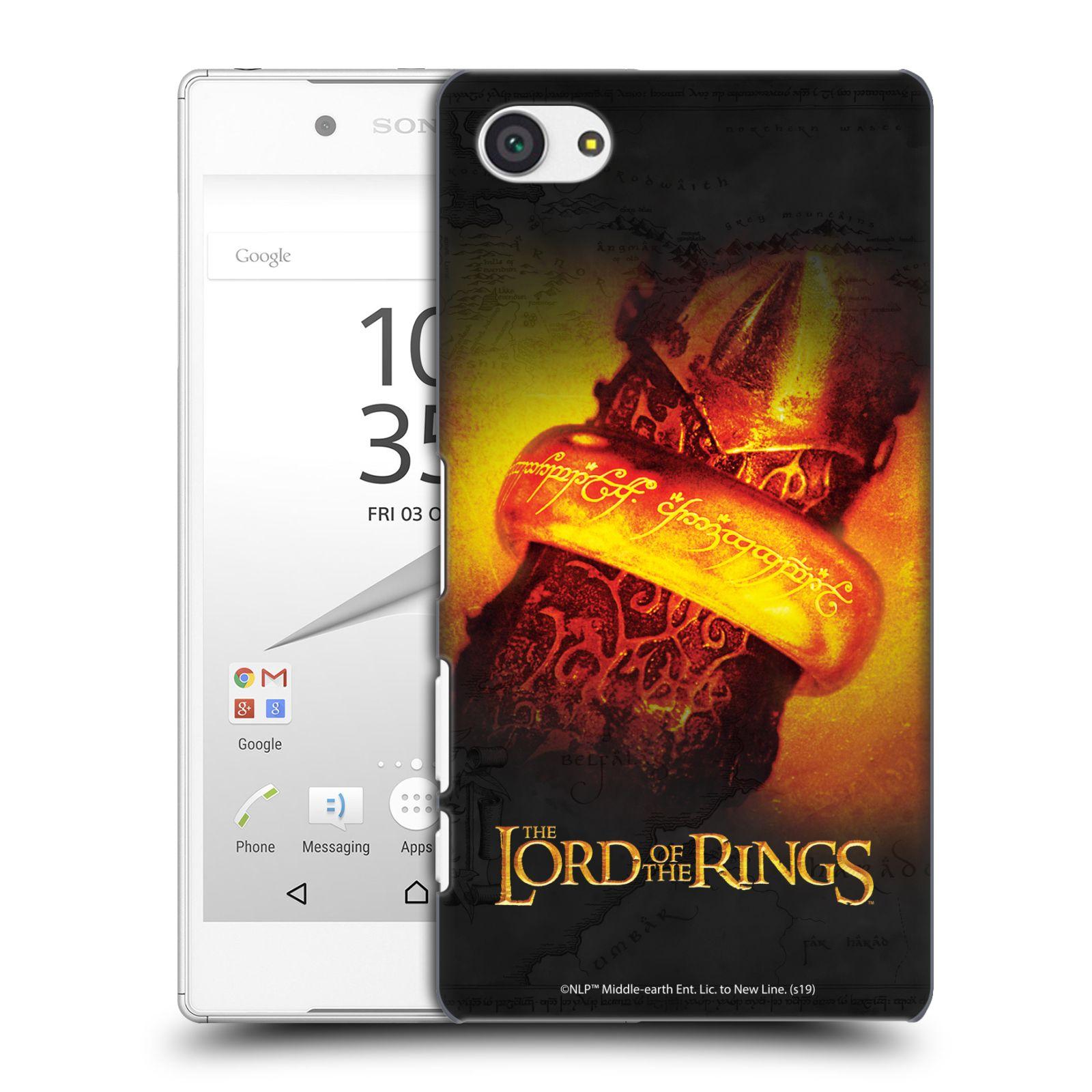 Pouzdro na mobil Sony Xperia Z5 COMPACT - HEAD CASE - Pán Prstenů - žhnoucí prsten