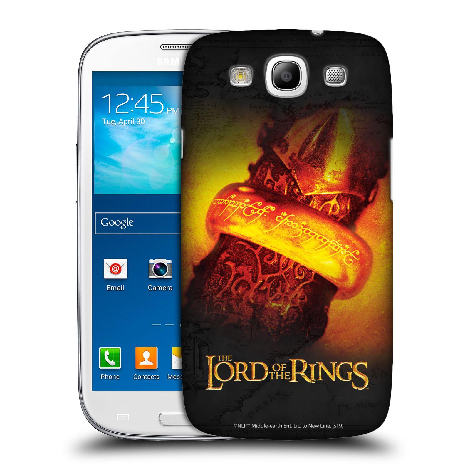 Pouzdro na mobil Samsung Galaxy S3 - HEAD CASE - Pán Prstenů - žhnoucí prsten