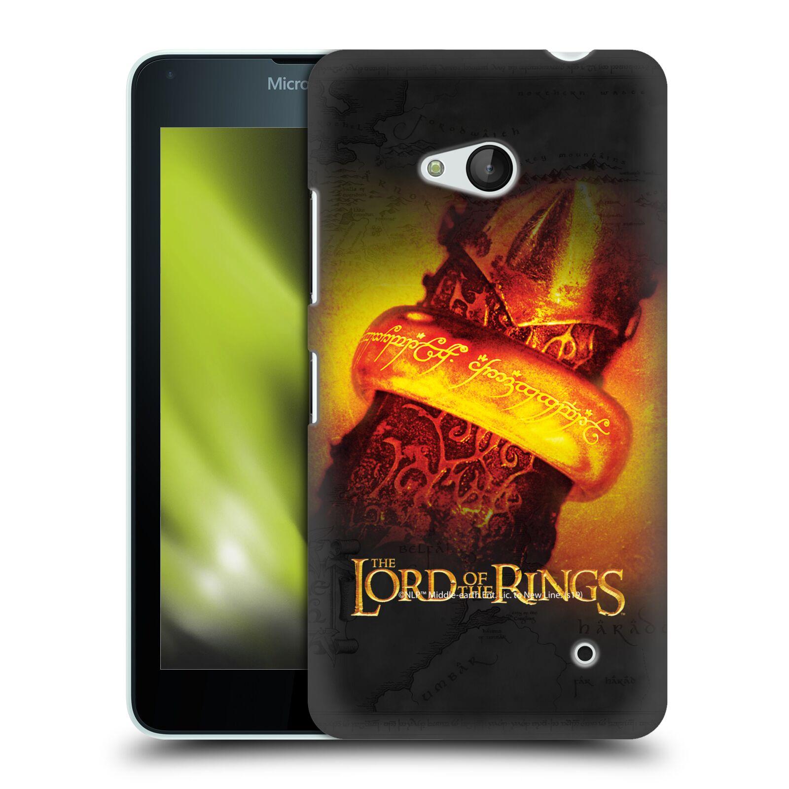 Pouzdro na mobil Microsoft Lumia 640 / 640 DUAL SIM - HEAD CASE - Pán Prstenů - žhnoucí prsten