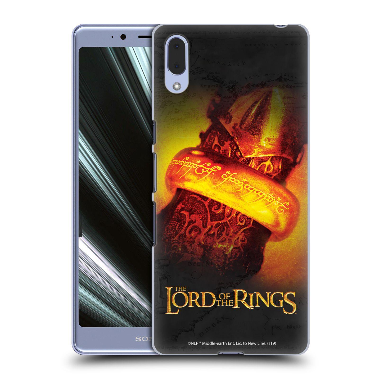 Pouzdro na mobil Sony Xperia L3 - HEAD CASE - Pán Prstenů - žhnoucí prsten