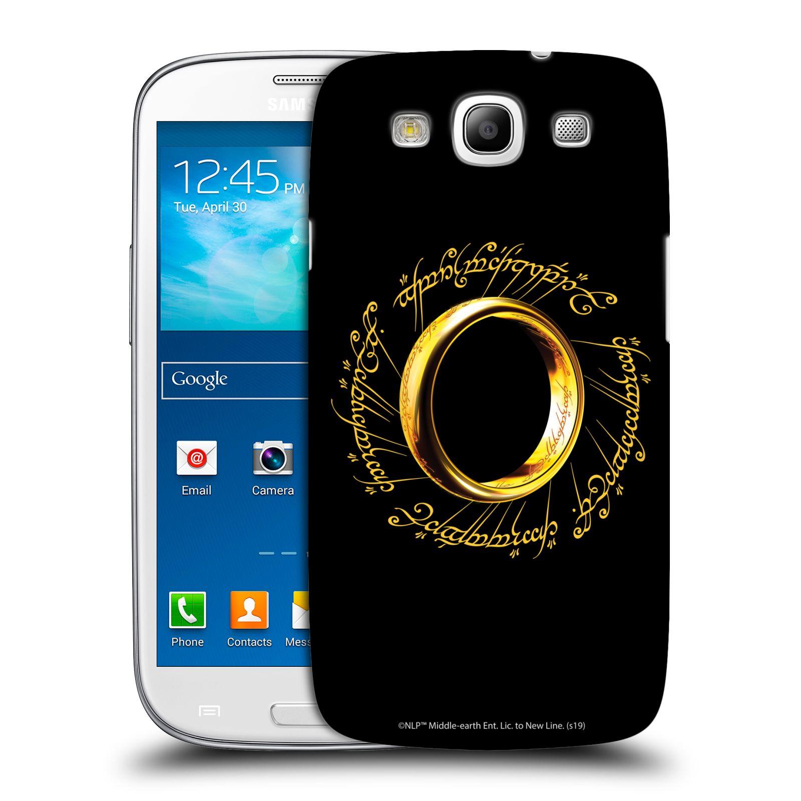 Pouzdro na mobil Samsung Galaxy S3 - HEAD CASE - Pán Prstenů - zlatý prsten