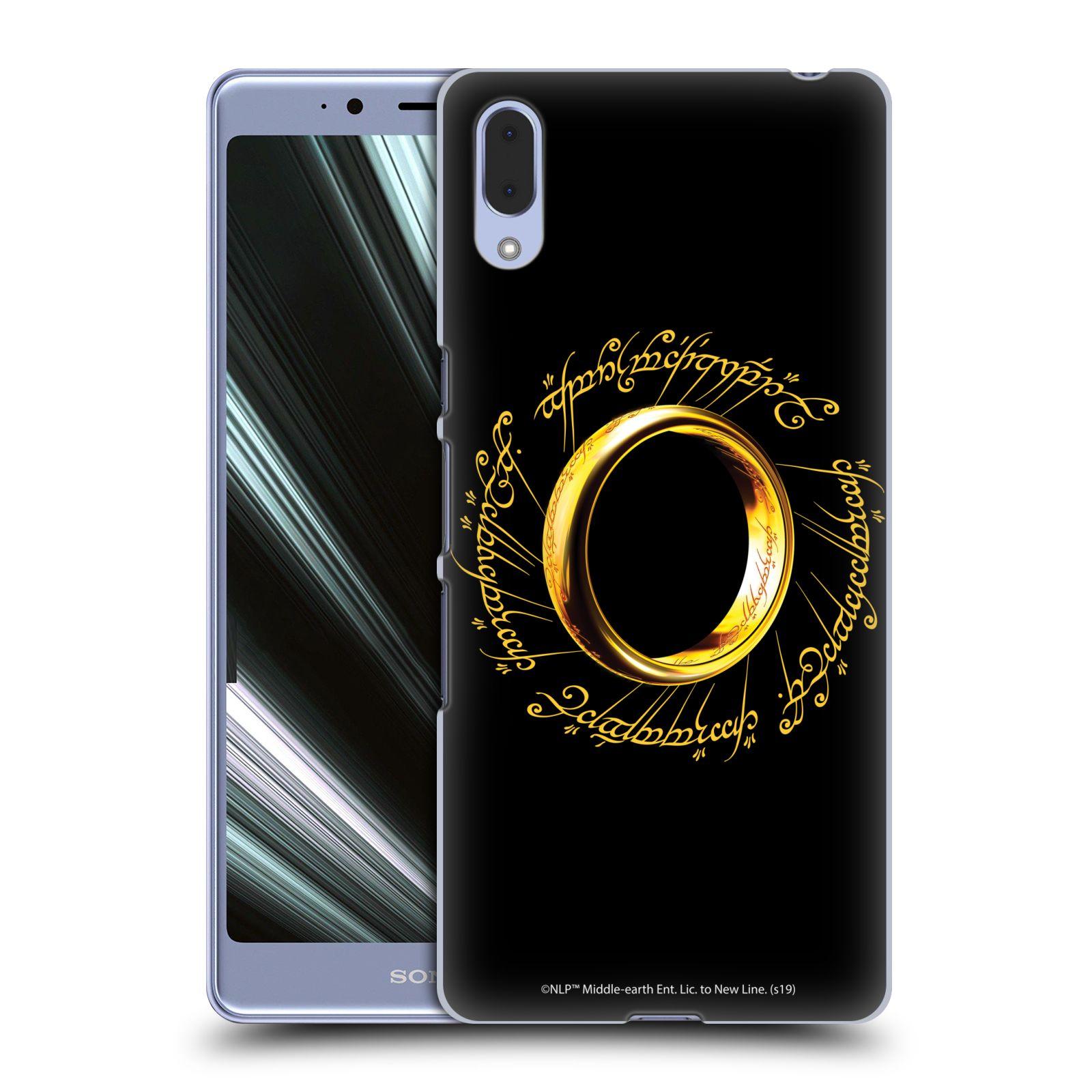 Pouzdro na mobil Sony Xperia L3 - HEAD CASE - Pán Prstenů - zlatý prsten