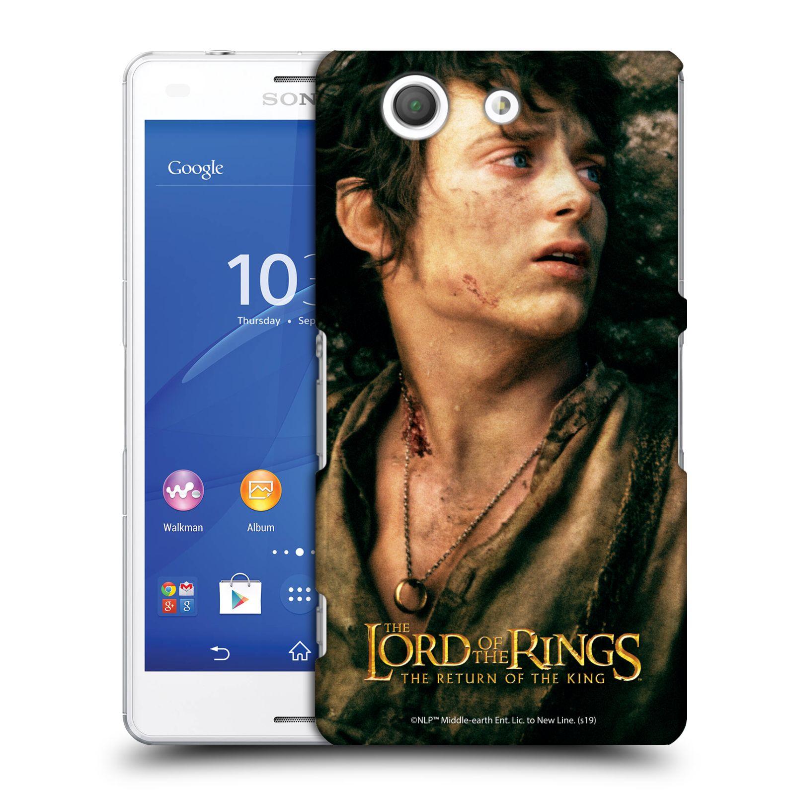 Pouzdro na mobil Sony Xperia Z3 COMPACT - HEAD CASE - Pán Prstenů - Frodo Pytlík tvář