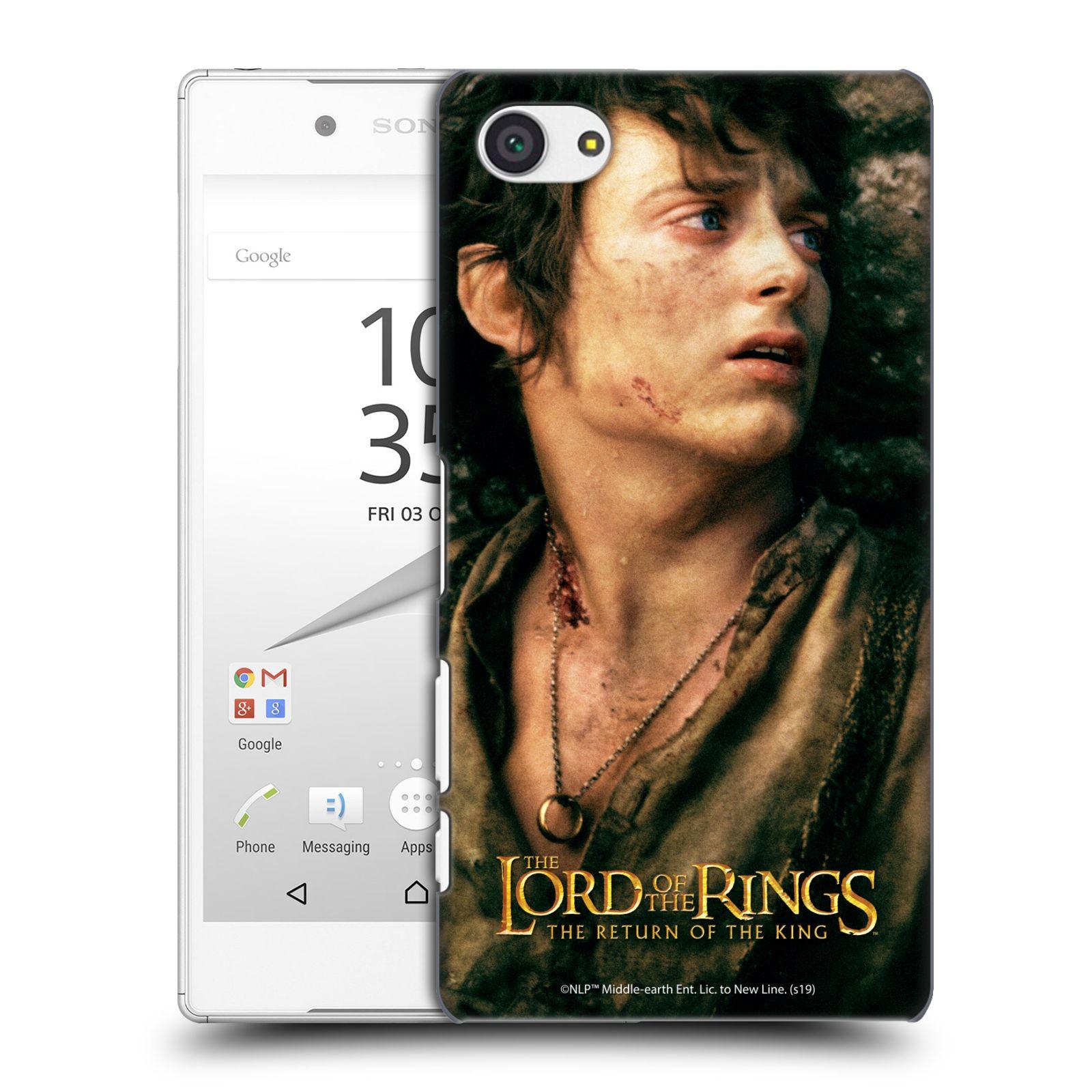 Pouzdro na mobil Sony Xperia Z5 COMPACT - HEAD CASE - Pán Prstenů - Frodo Pytlík tvář