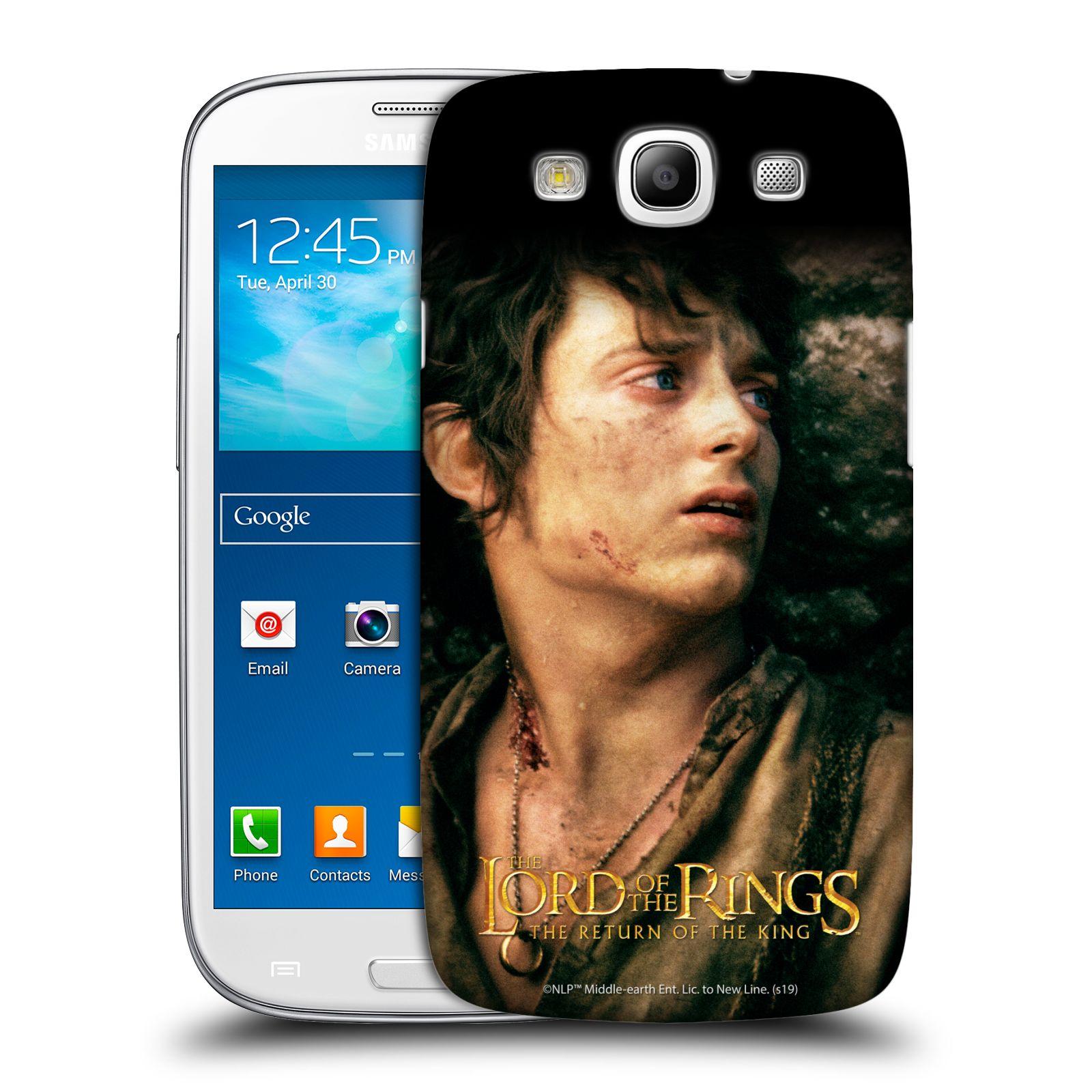 Pouzdro na mobil Samsung Galaxy S3 - HEAD CASE - Pán Prstenů - Frodo Pytlík tvář
