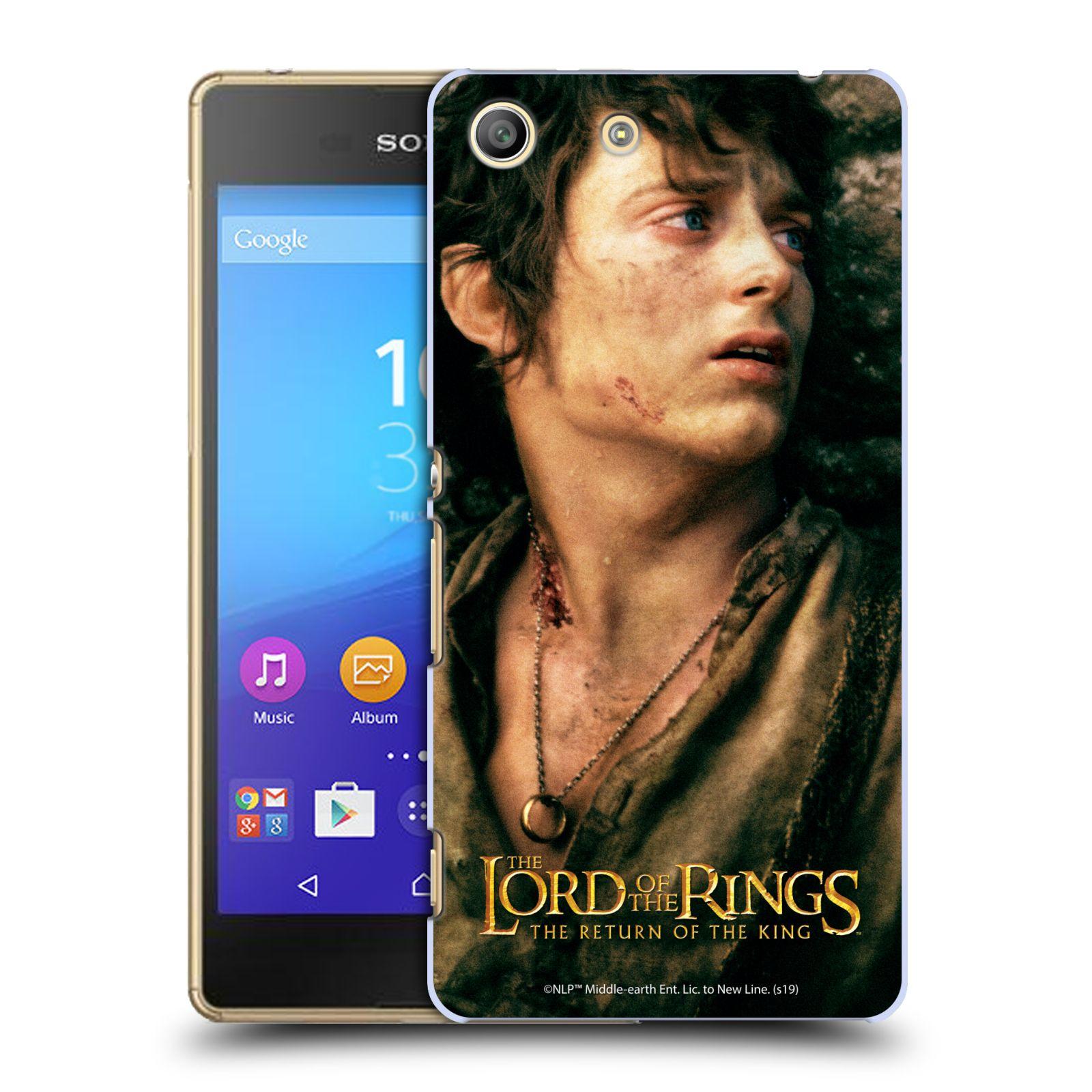 Pouzdro na mobil Sony Xperia M5 - HEAD CASE - Pán Prstenů - Frodo Pytlík tvář