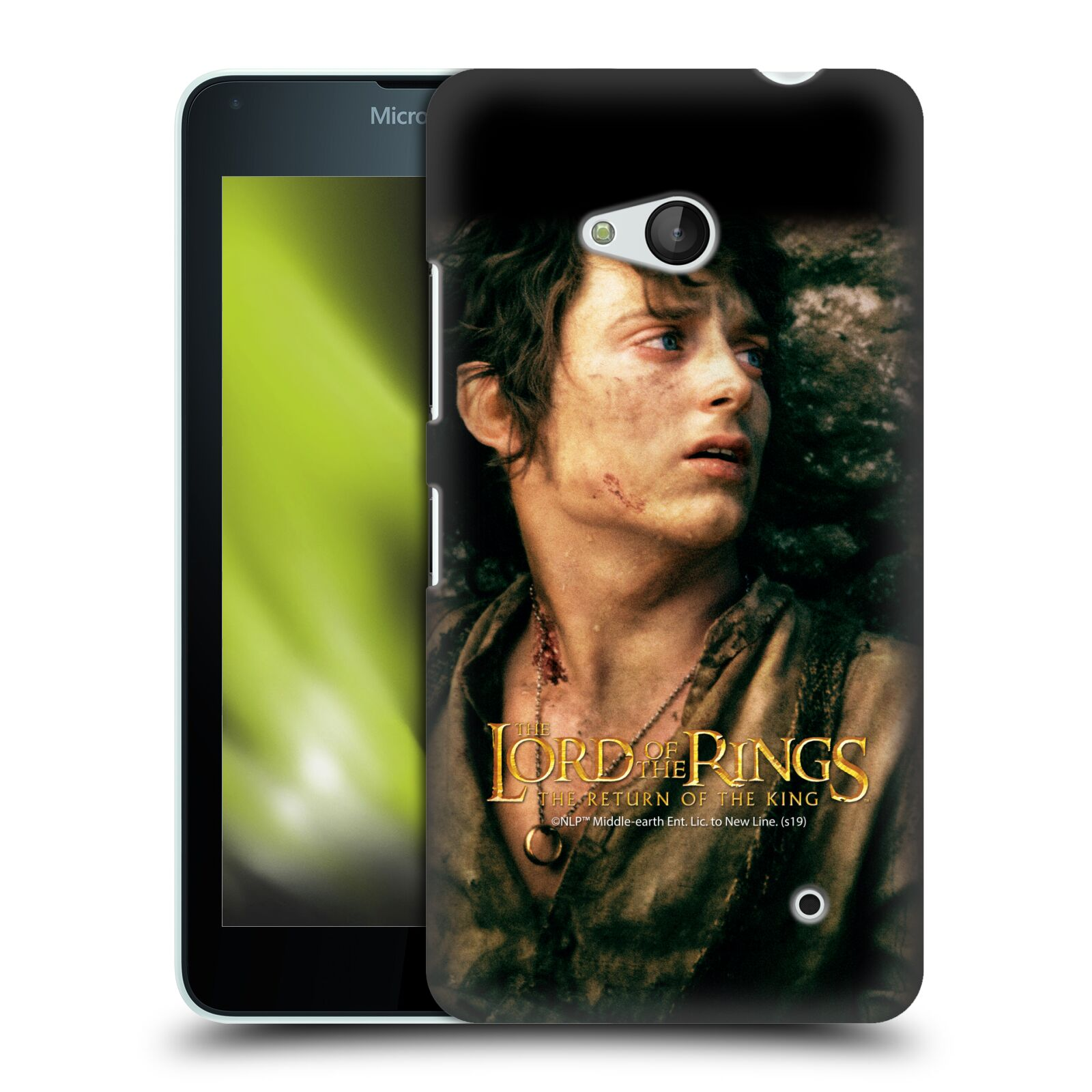 Pouzdro na mobil Microsoft Lumia 640 / 640 DUAL SIM - HEAD CASE - Pán Prstenů - Frodo Pytlík tvář