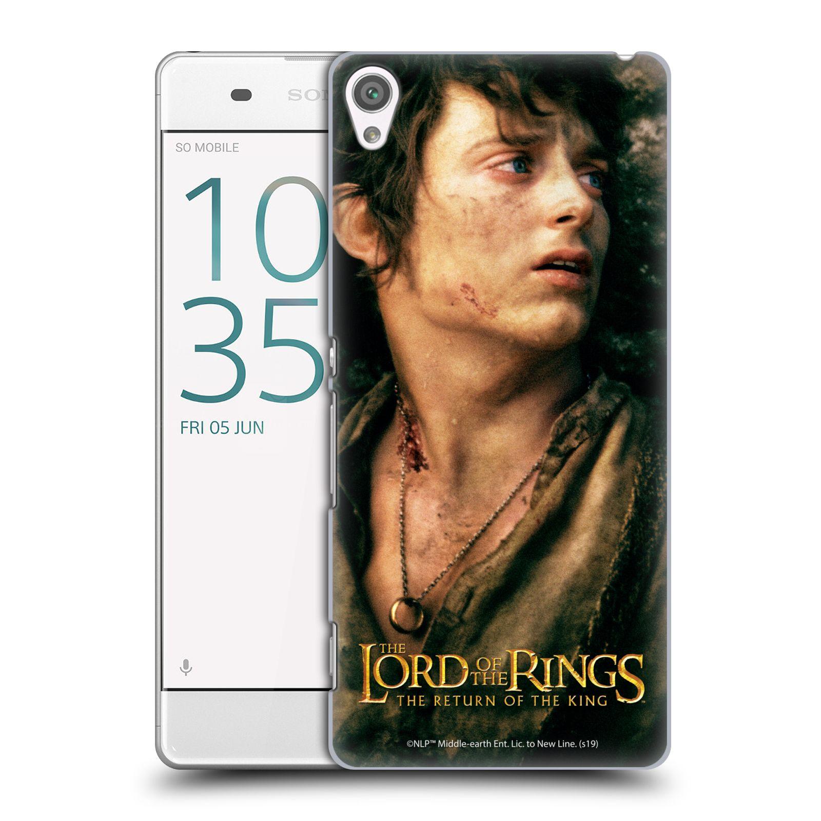 Pouzdro na mobil Sony Xperia XA - HEAD CASE - Pán Prstenů - Frodo Pytlík tvář