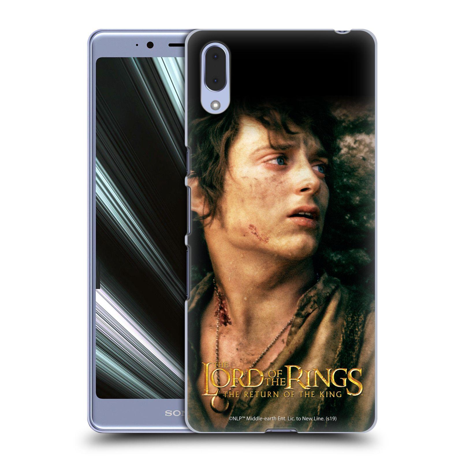Pouzdro na mobil Sony Xperia L3 - HEAD CASE - Pán Prstenů - Frodo Pytlík tvář