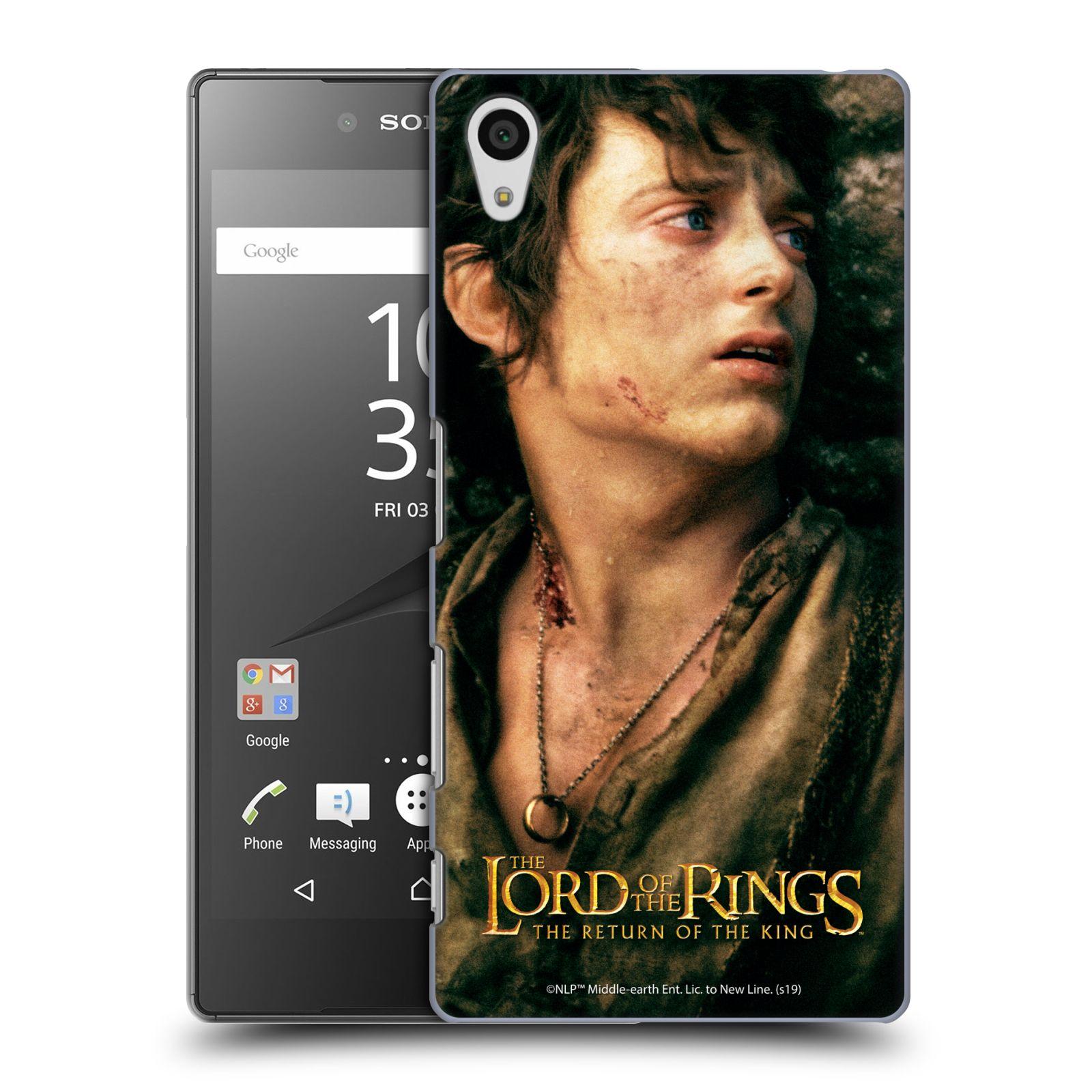 Pouzdro na mobil Sony Xperia Z5 - HEAD CASE - Pán Prstenů - Frodo Pytlík tvář