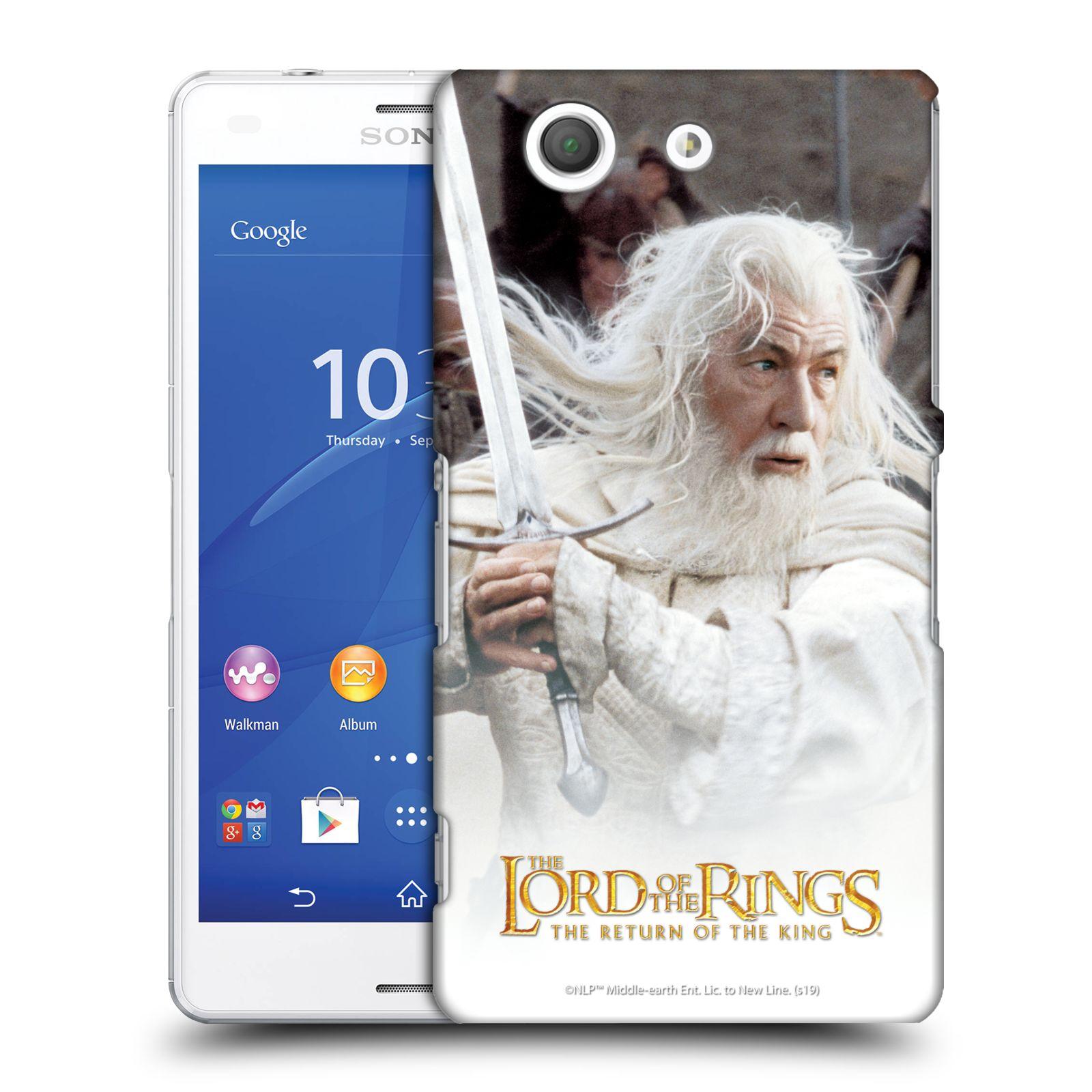 Pouzdro na mobil Sony Xperia Z3 COMPACT - HEAD CASE - Pán Prstenů - Čaroděj Gandalf