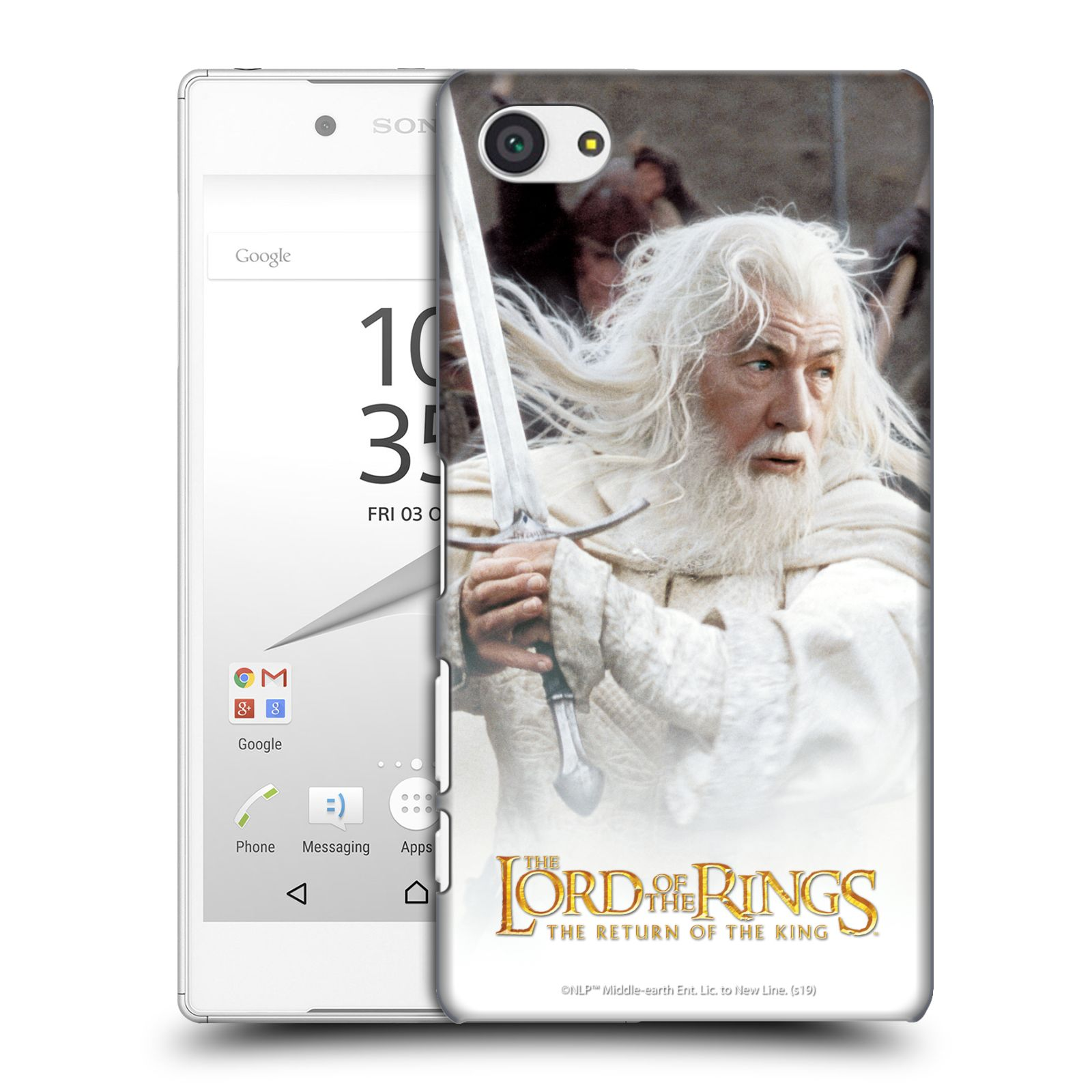 Pouzdro na mobil Sony Xperia Z5 COMPACT - HEAD CASE - Pán Prstenů - Čaroděj Gandalf