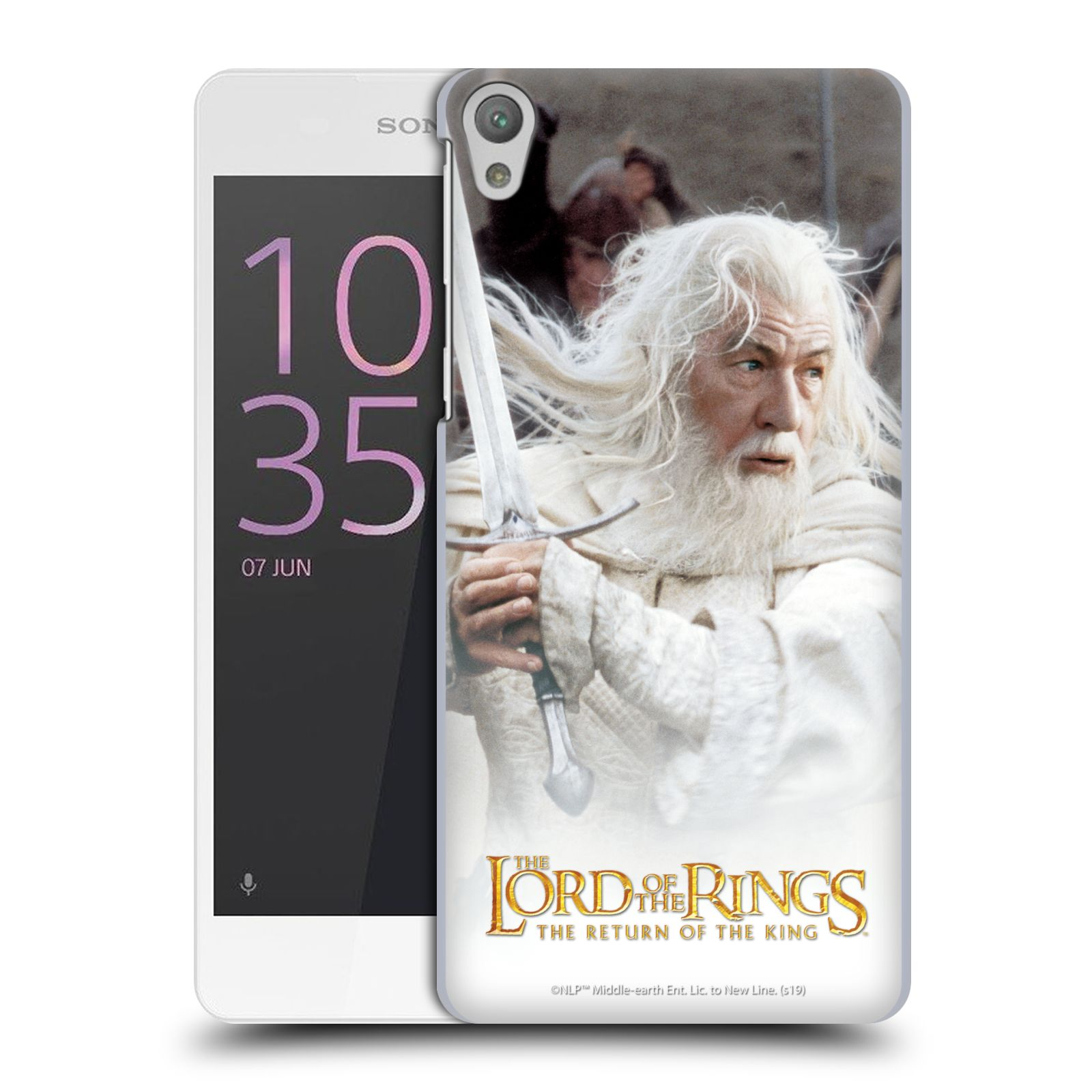 Pouzdro na mobil Sony Xperia E5 - HEAD CASE - Pán Prstenů - Čaroděj Gandalf