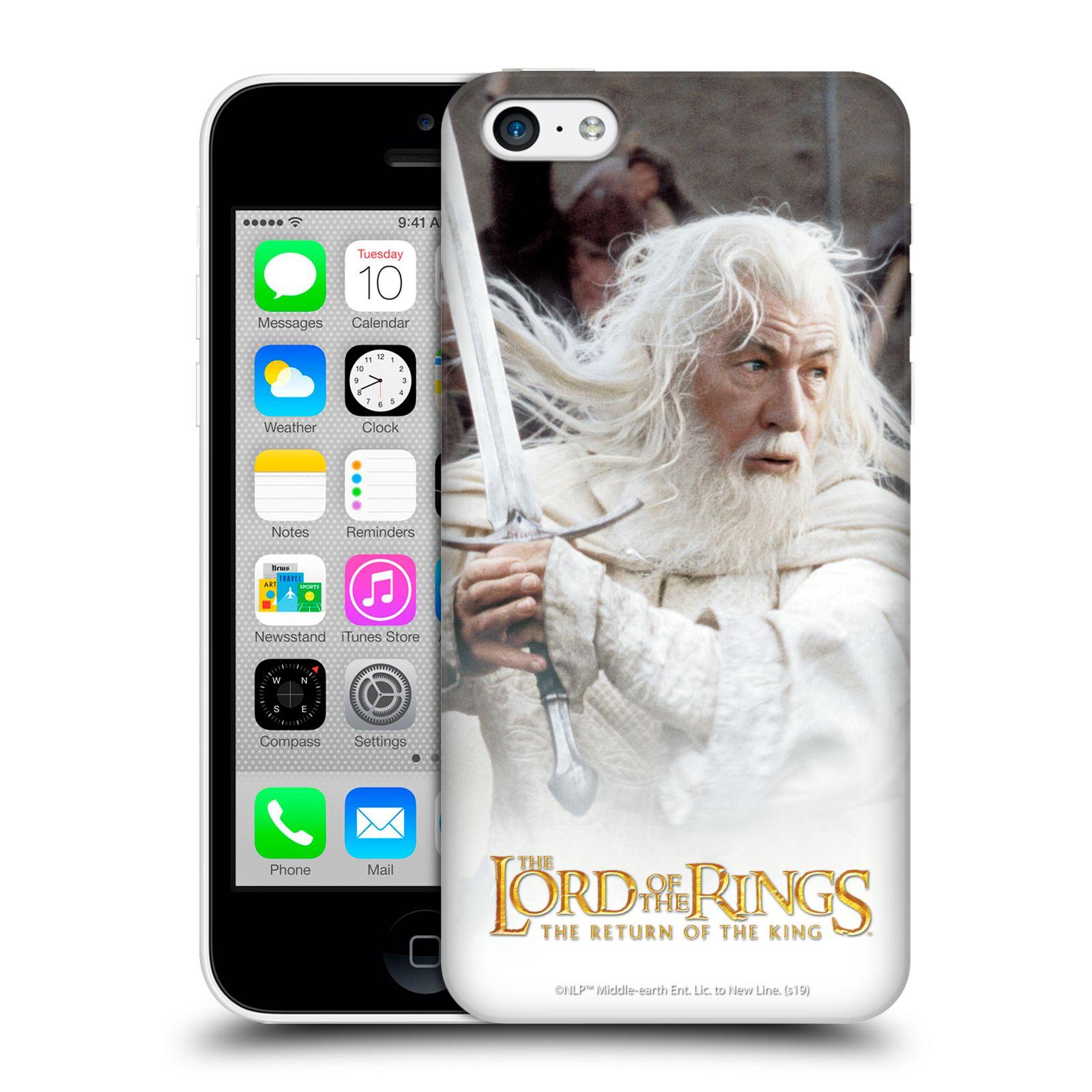 Pouzdro na mobil Apple Iphone 5C - HEAD CASE - Pán Prstenů - Čaroděj Gandalf