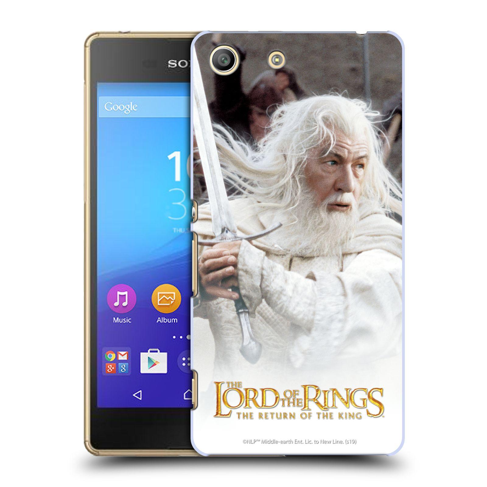 Pouzdro na mobil Sony Xperia M5 - HEAD CASE - Pán Prstenů - Čaroděj Gandalf