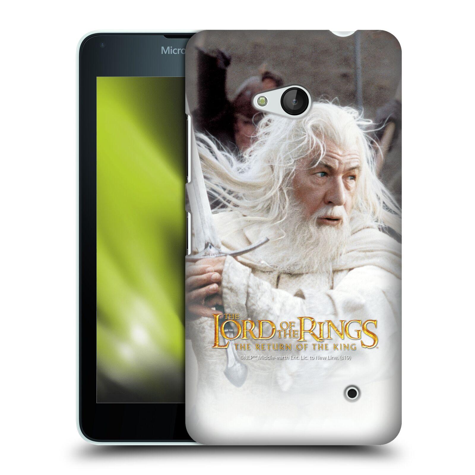 Pouzdro na mobil Microsoft Lumia 640 / 640 DUAL SIM - HEAD CASE - Pán Prstenů - Čaroděj Gandalf