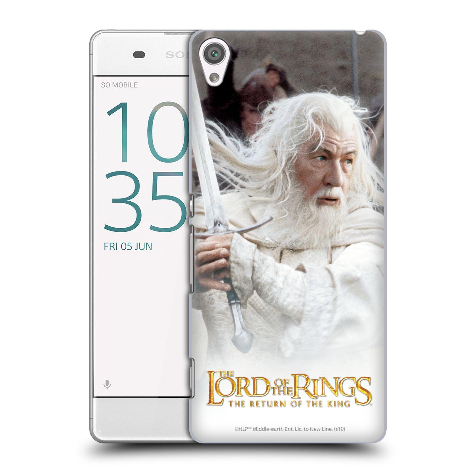Pouzdro na mobil Sony Xperia XA - HEAD CASE - Pán Prstenů - Čaroděj Gandalf
