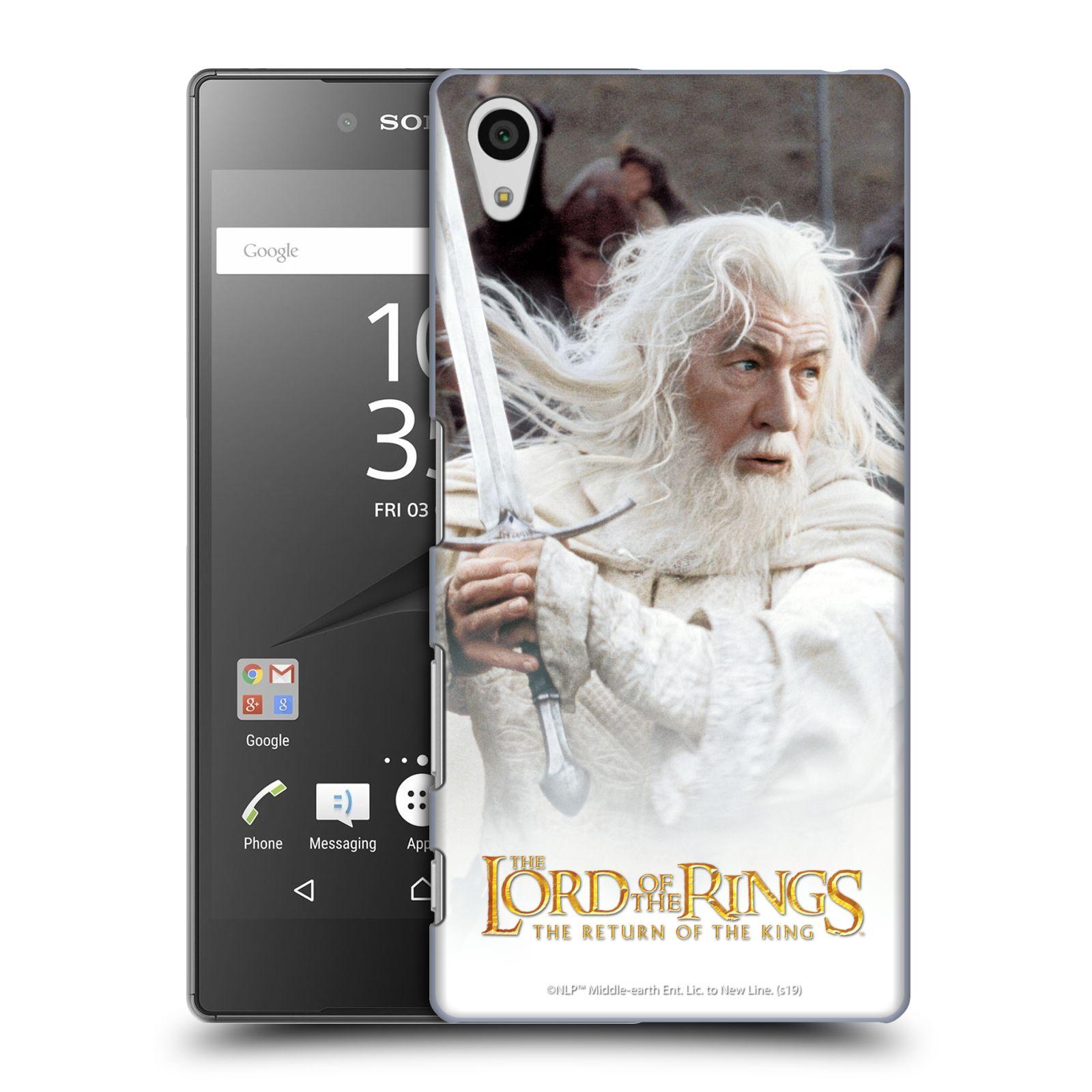 Pouzdro na mobil Sony Xperia Z5 - HEAD CASE - Pán Prstenů - Čaroděj Gandalf